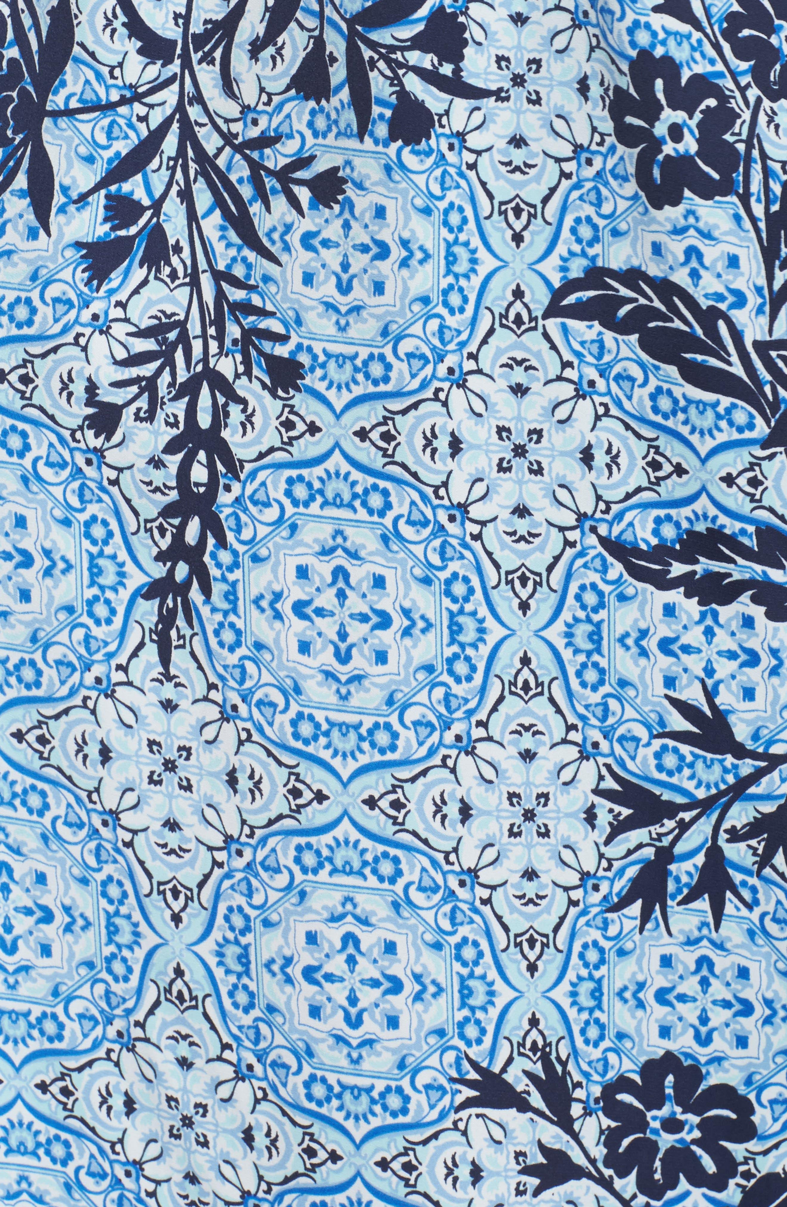 Sweet Dreams Satin Robe,                             Alternate thumbnail 5, color,                             420