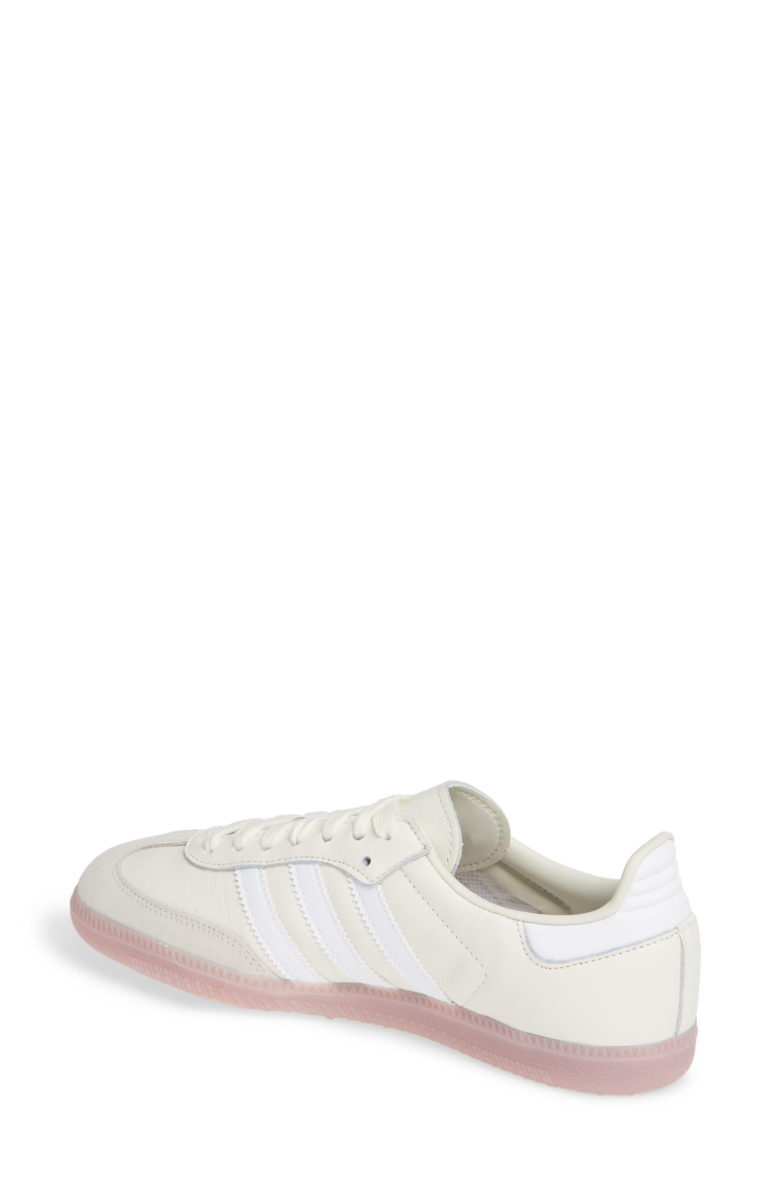 Samba Sneaker,                             Alternate thumbnail 2, color,                             OFF WHITE/ WHITE/ SOFT VISION