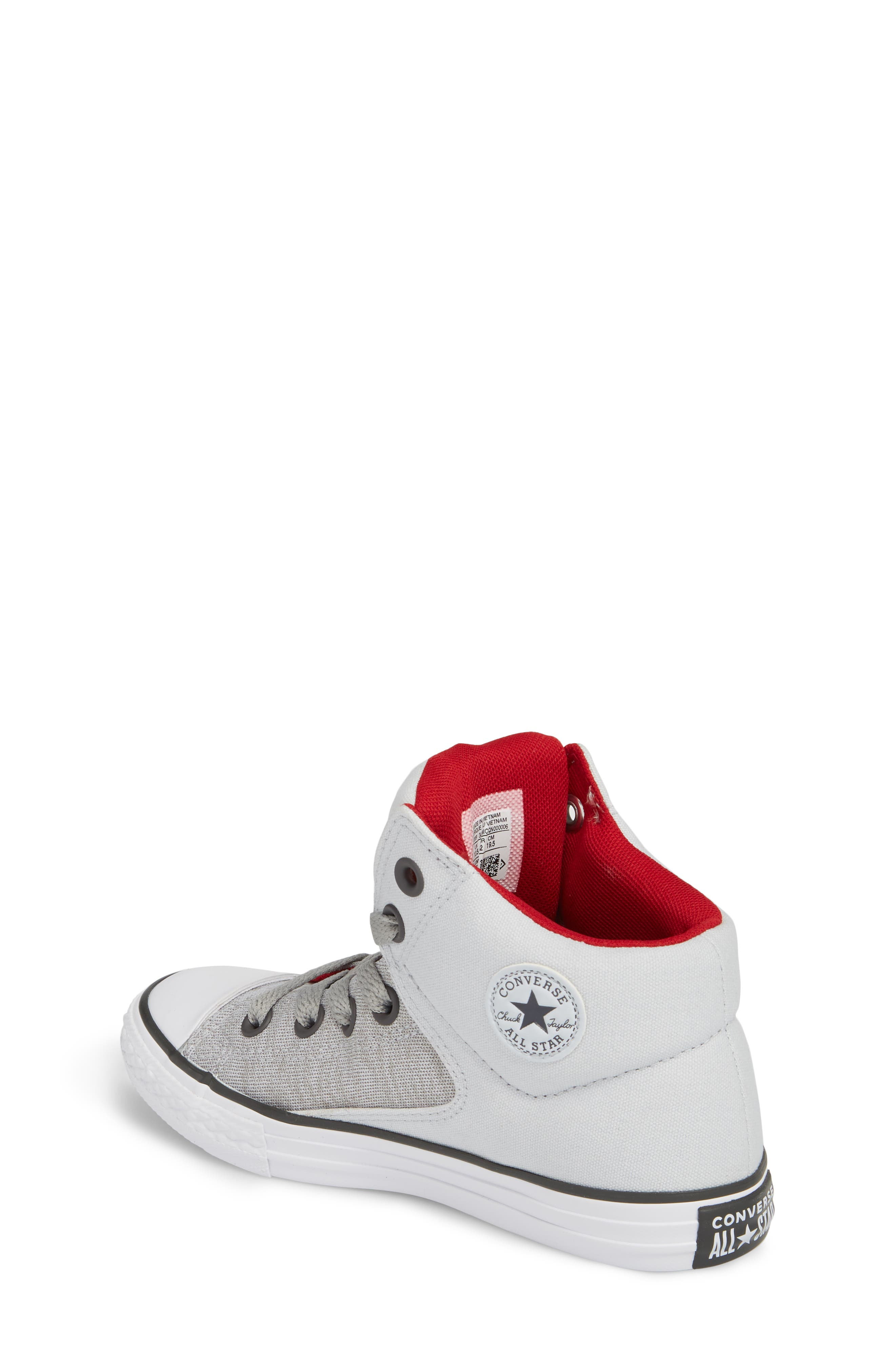 Chuck Taylor<sup>®</sup> All Star<sup>®</sup> High Street High Top Sneaker,                             Alternate thumbnail 4, color,