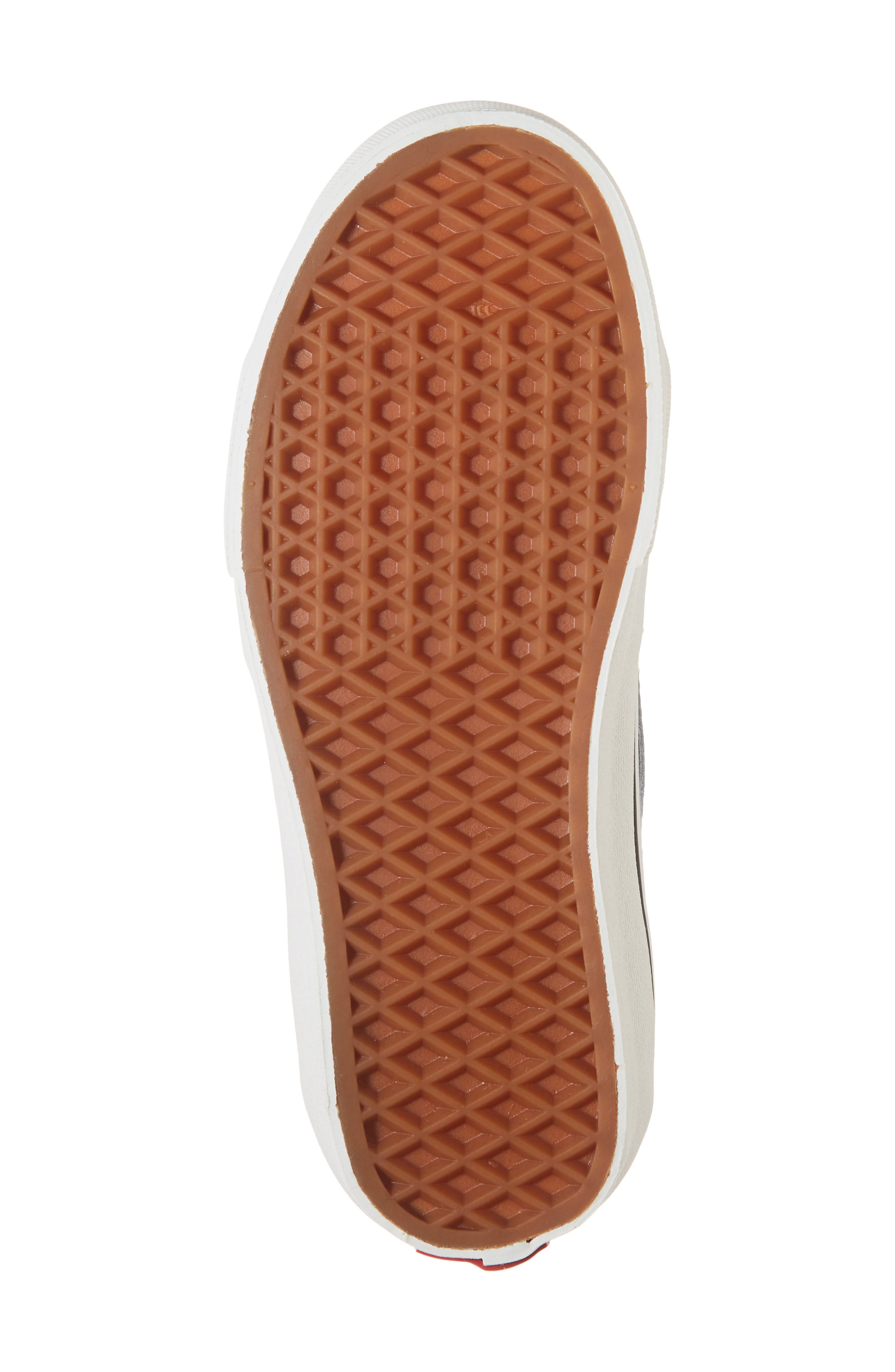 'Sk8-Hi' Sneaker,                             Alternate thumbnail 6, color,                             GREY/ SNOW WHITE
