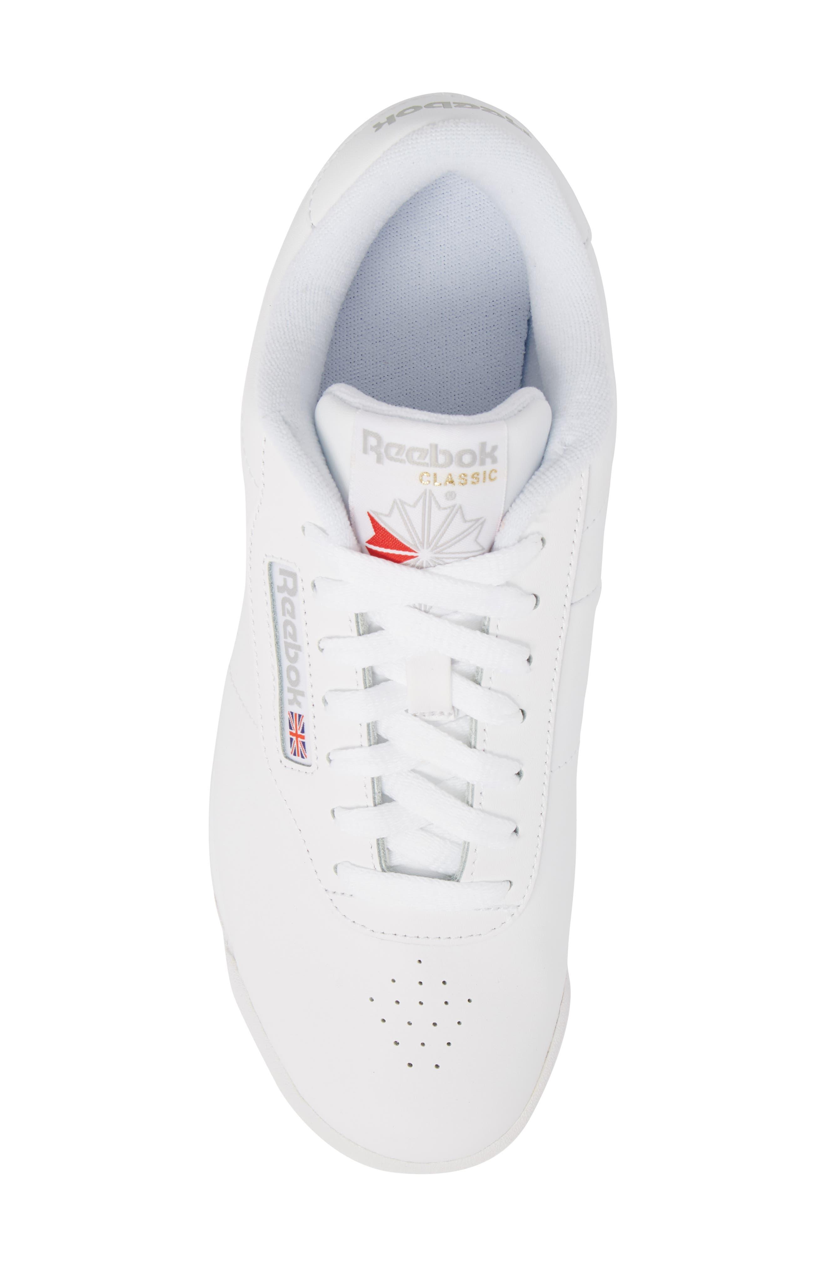 Princess Sneaker,                             Alternate thumbnail 5, color,                             WHITE