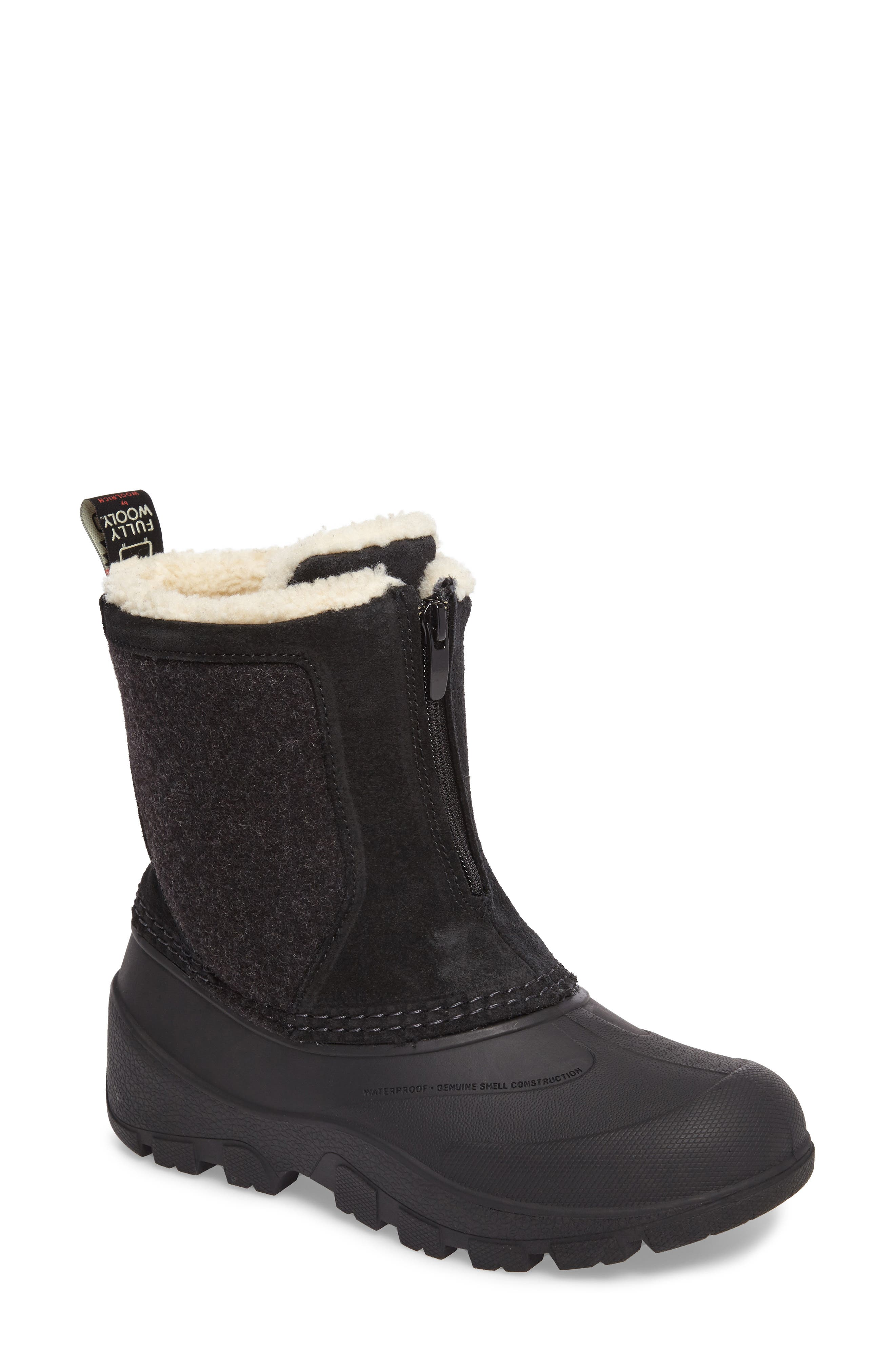 Fully Wooly Icecat Waterproof Insulated Winter Boot,                             Main thumbnail 1, color,                             001