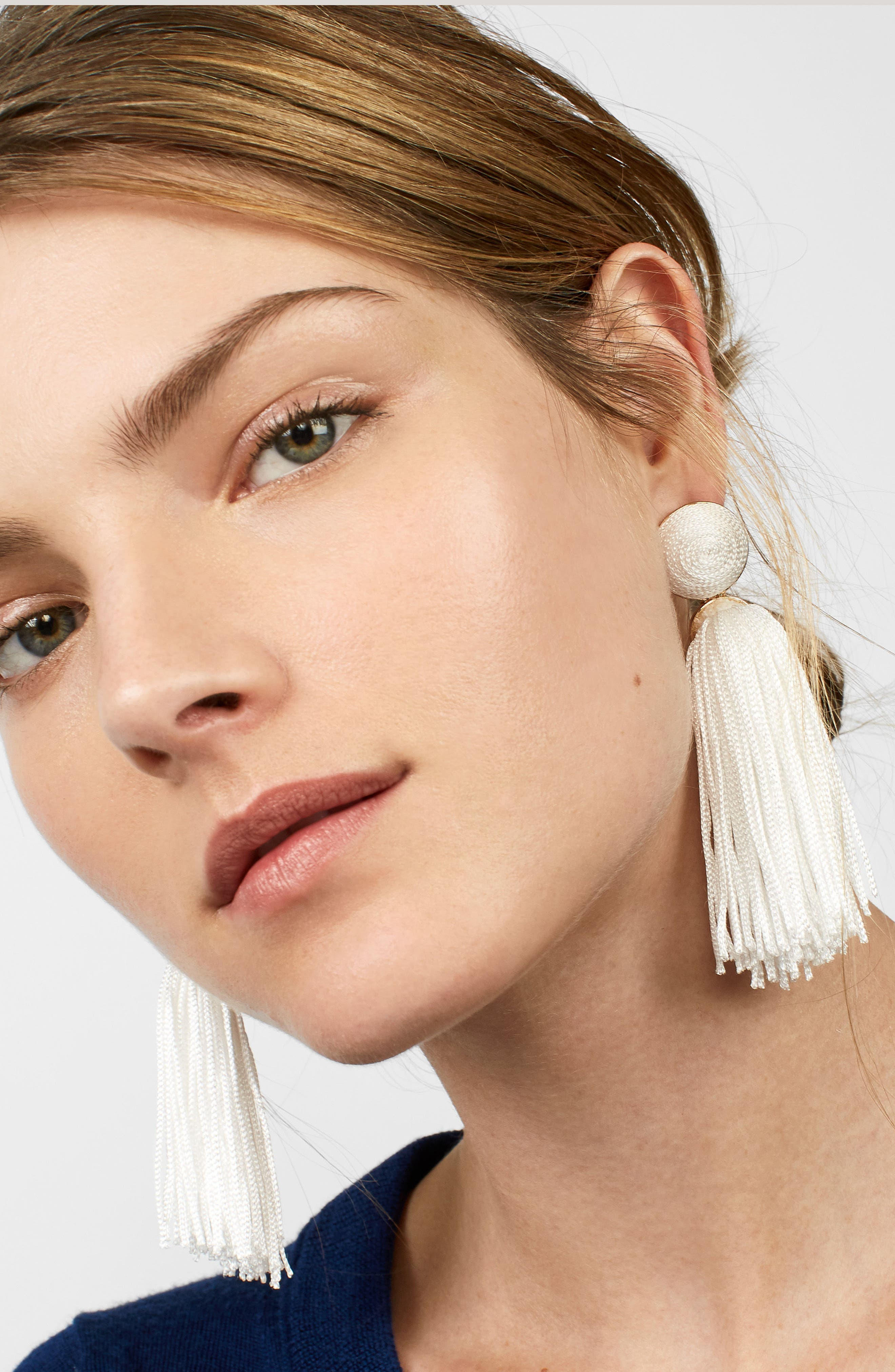 Sonatina Tassel Earrings,                             Alternate thumbnail 11, color,