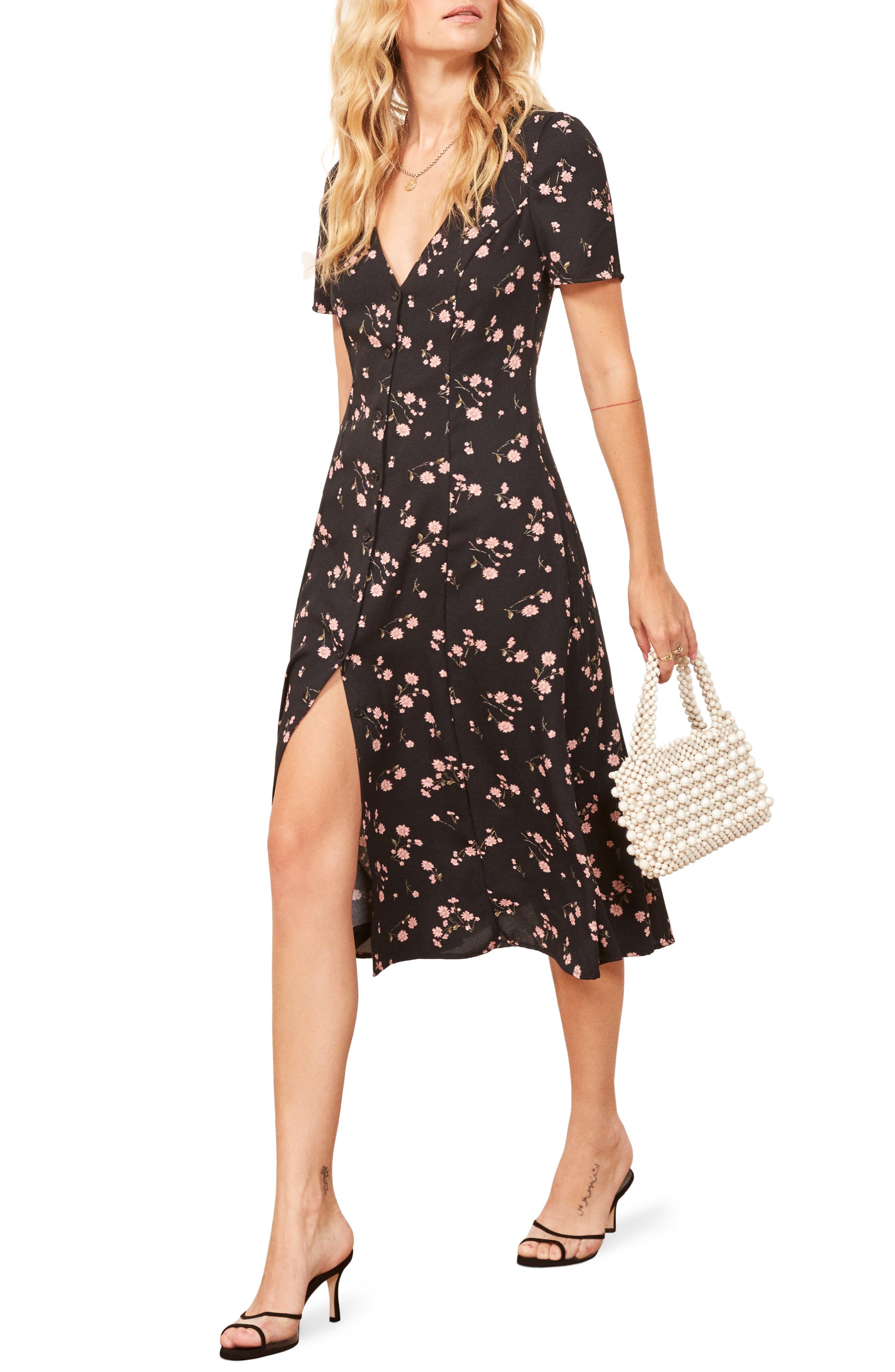 Locklin Dress,                         Main,                         color, ENSENADA