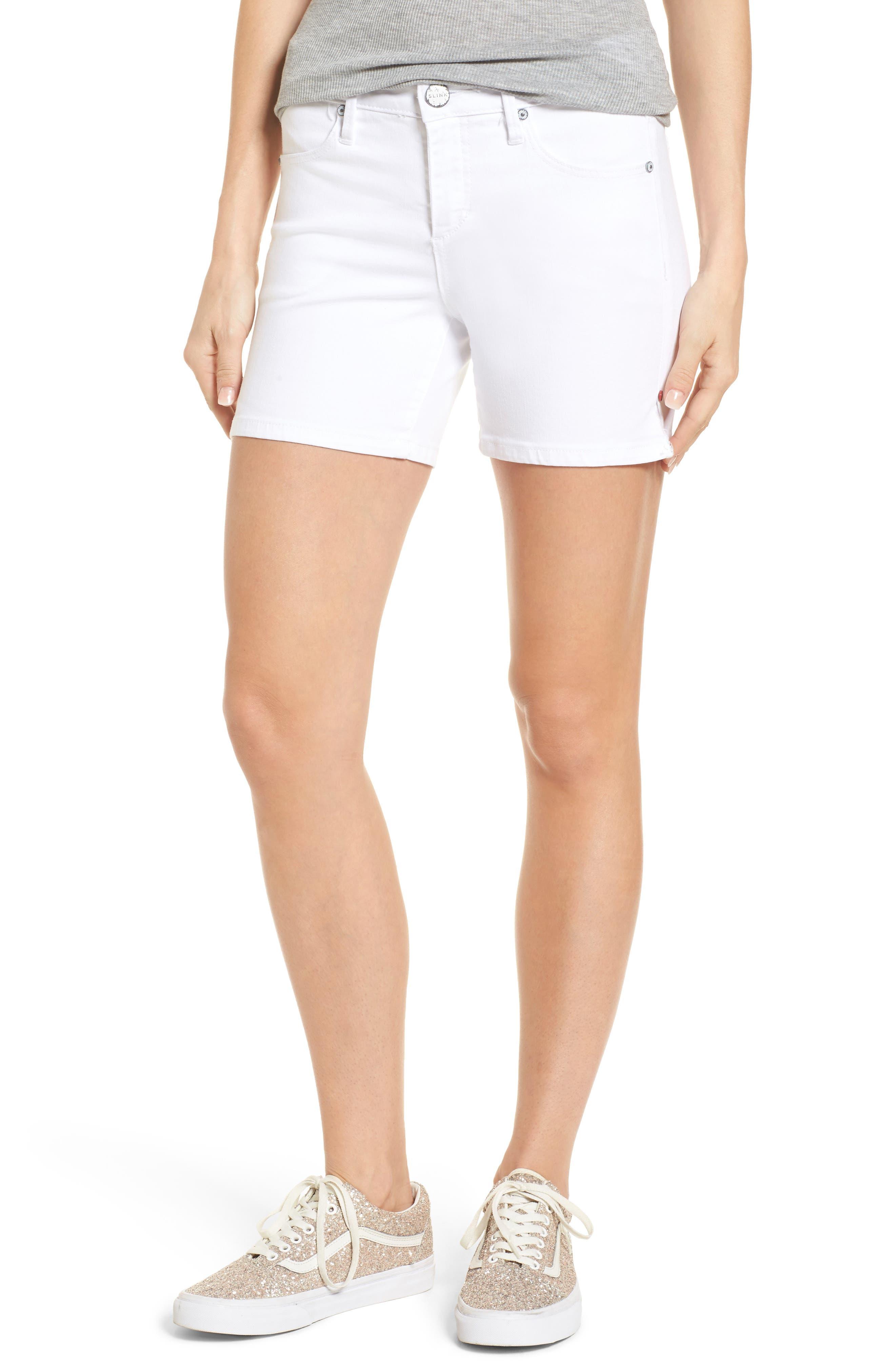Side Vent Shorts,                             Main thumbnail 1, color,                             WHITE