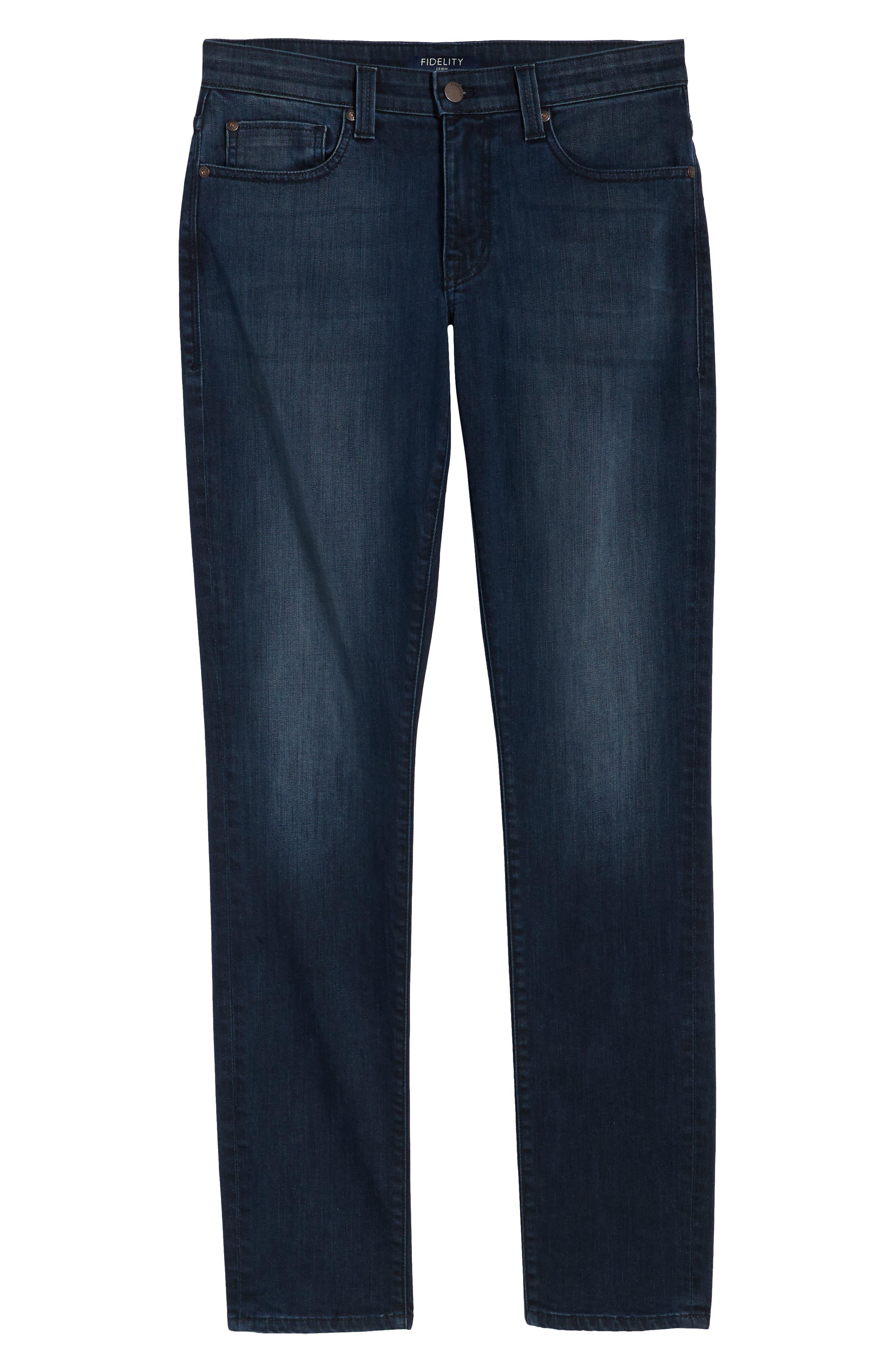 FIDELITY DENIM,                             Torino Slim Fit Jeans,                             Alternate thumbnail 6, color,                             SPECTRE