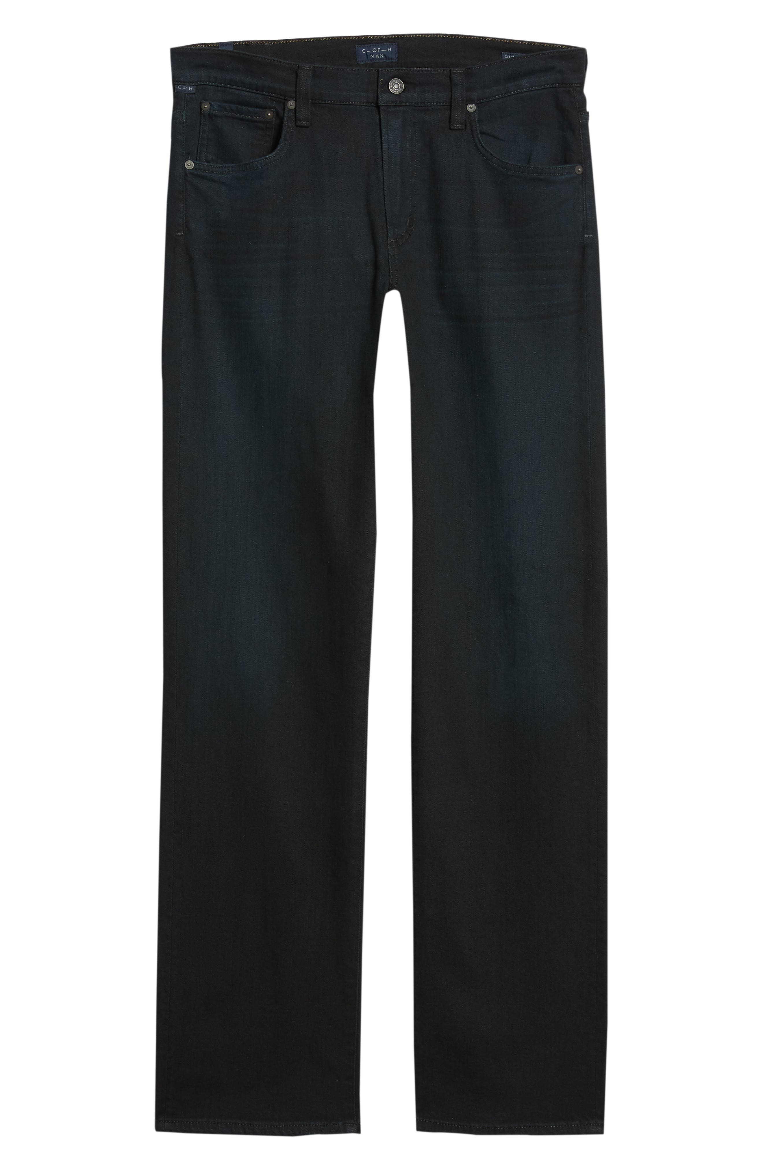 Sid Straight Leg Jeans,                             Alternate thumbnail 6, color,                             STAGE