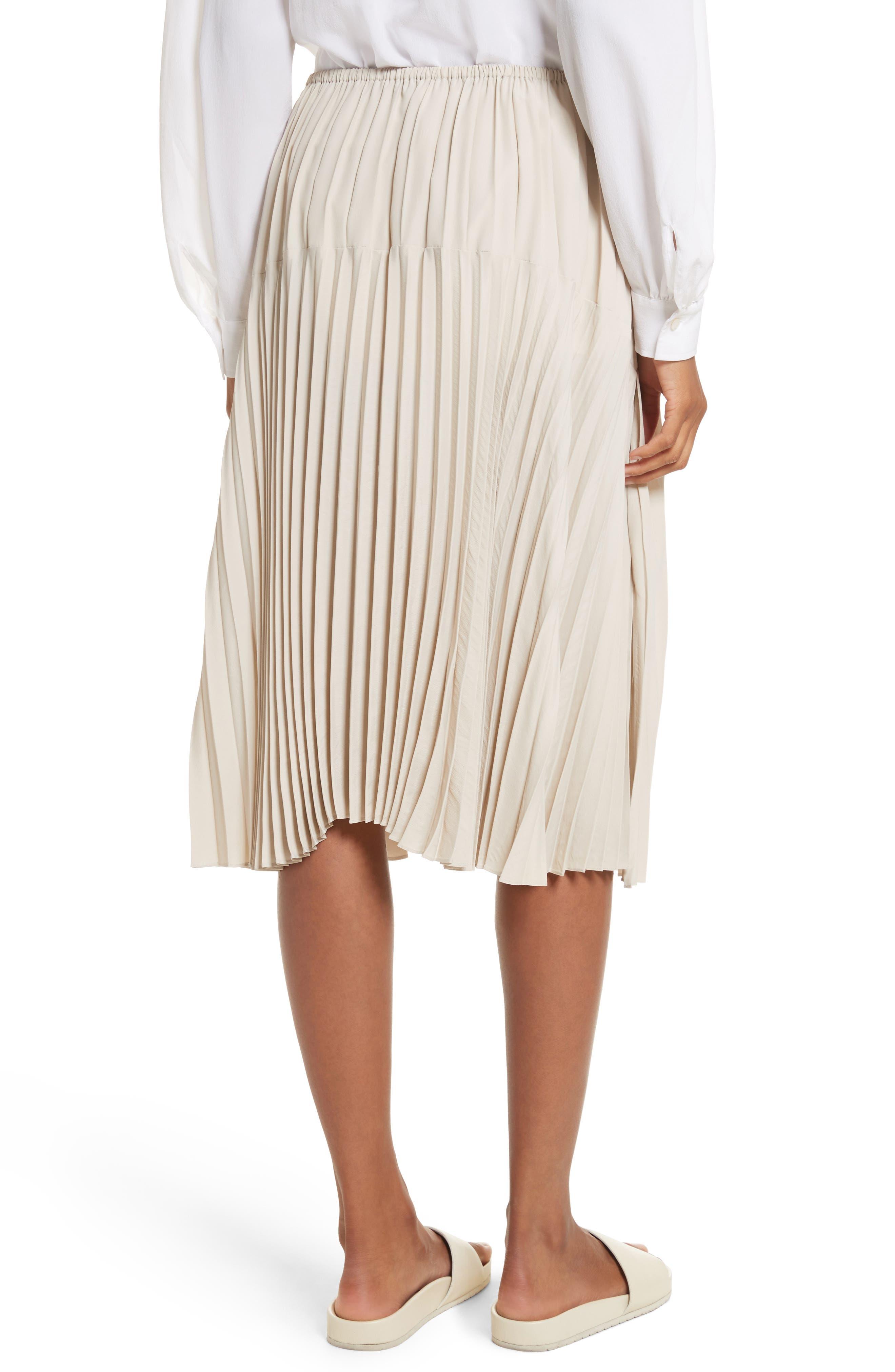 Pleated Skirt,                             Alternate thumbnail 4, color,