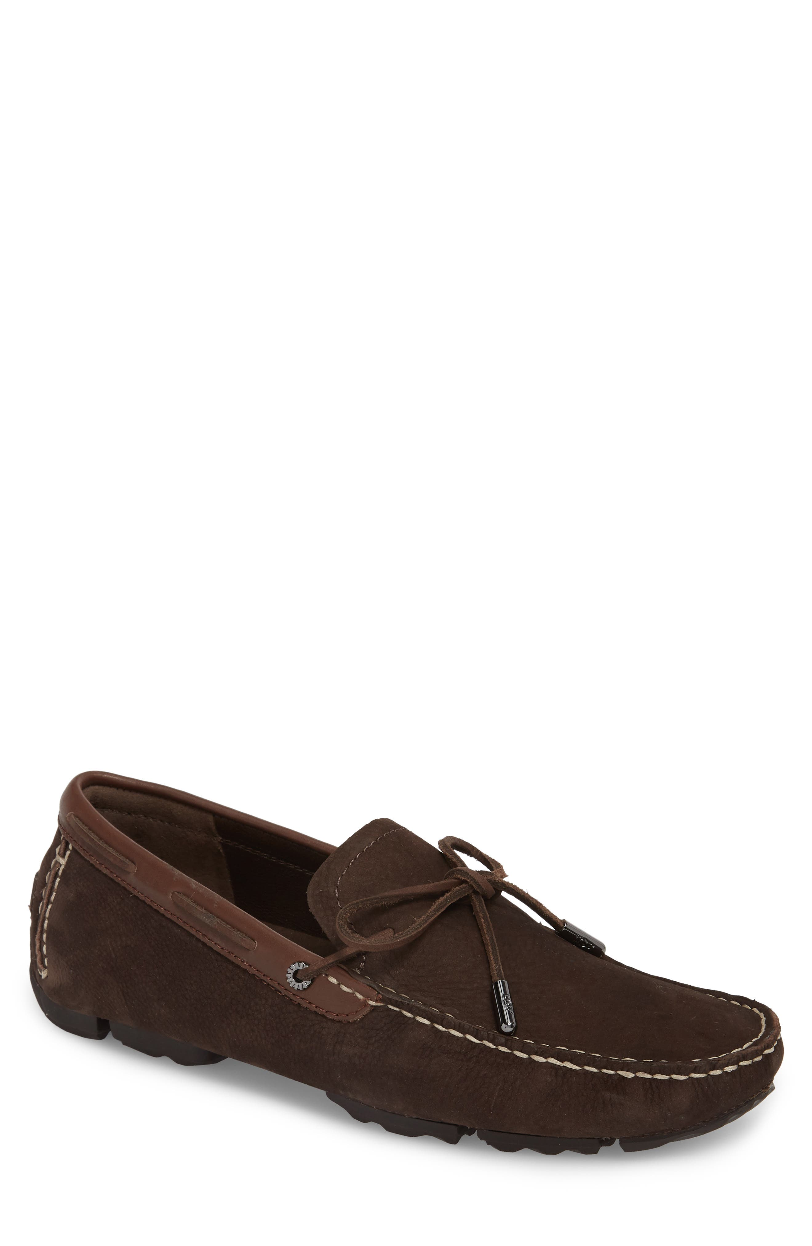 Bel Air Driving Moccasin,                             Main thumbnail 1, color,                             STOUT LEATHER