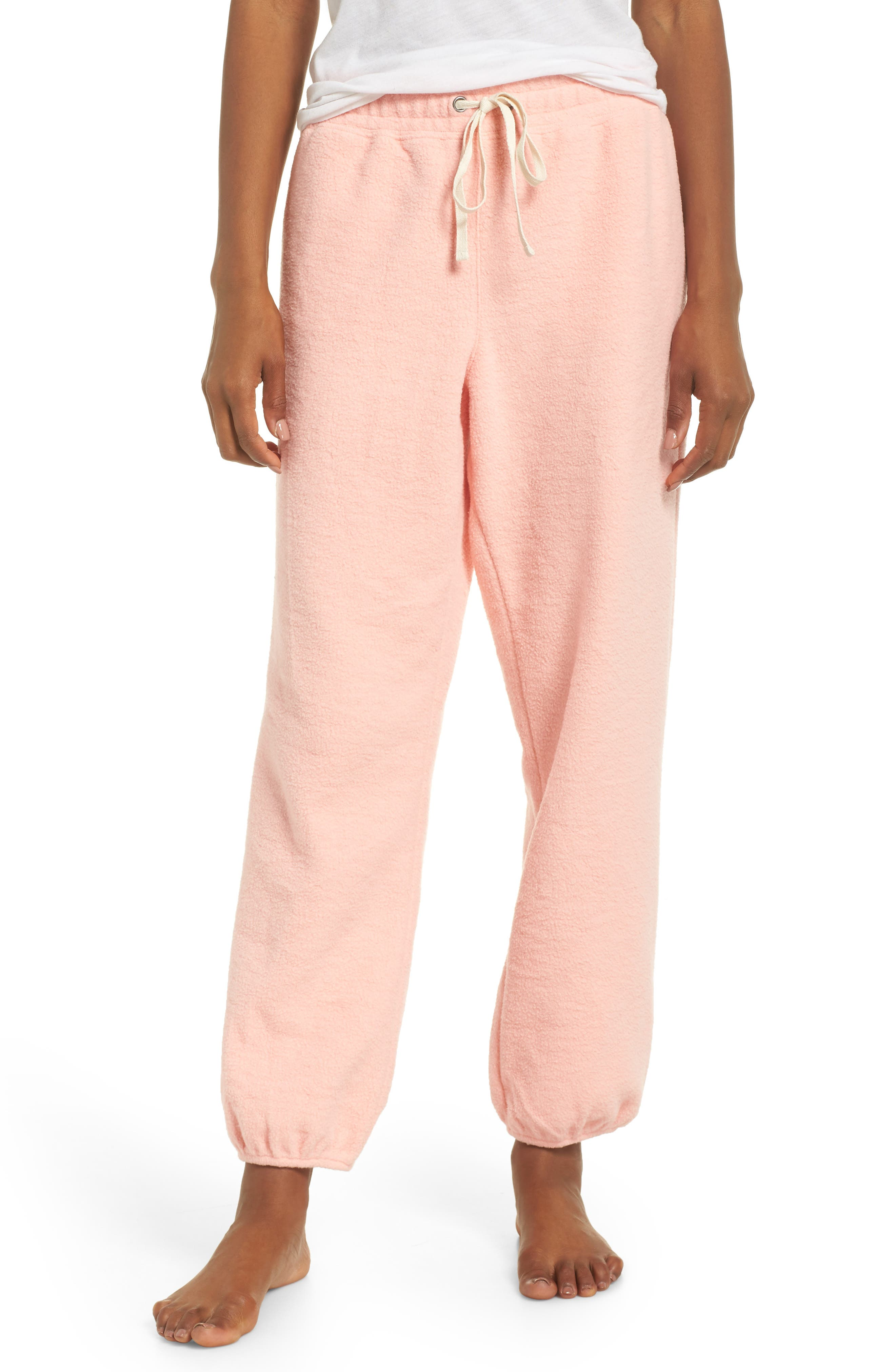 Women's Madewell Fleece Pajama Sweatpants