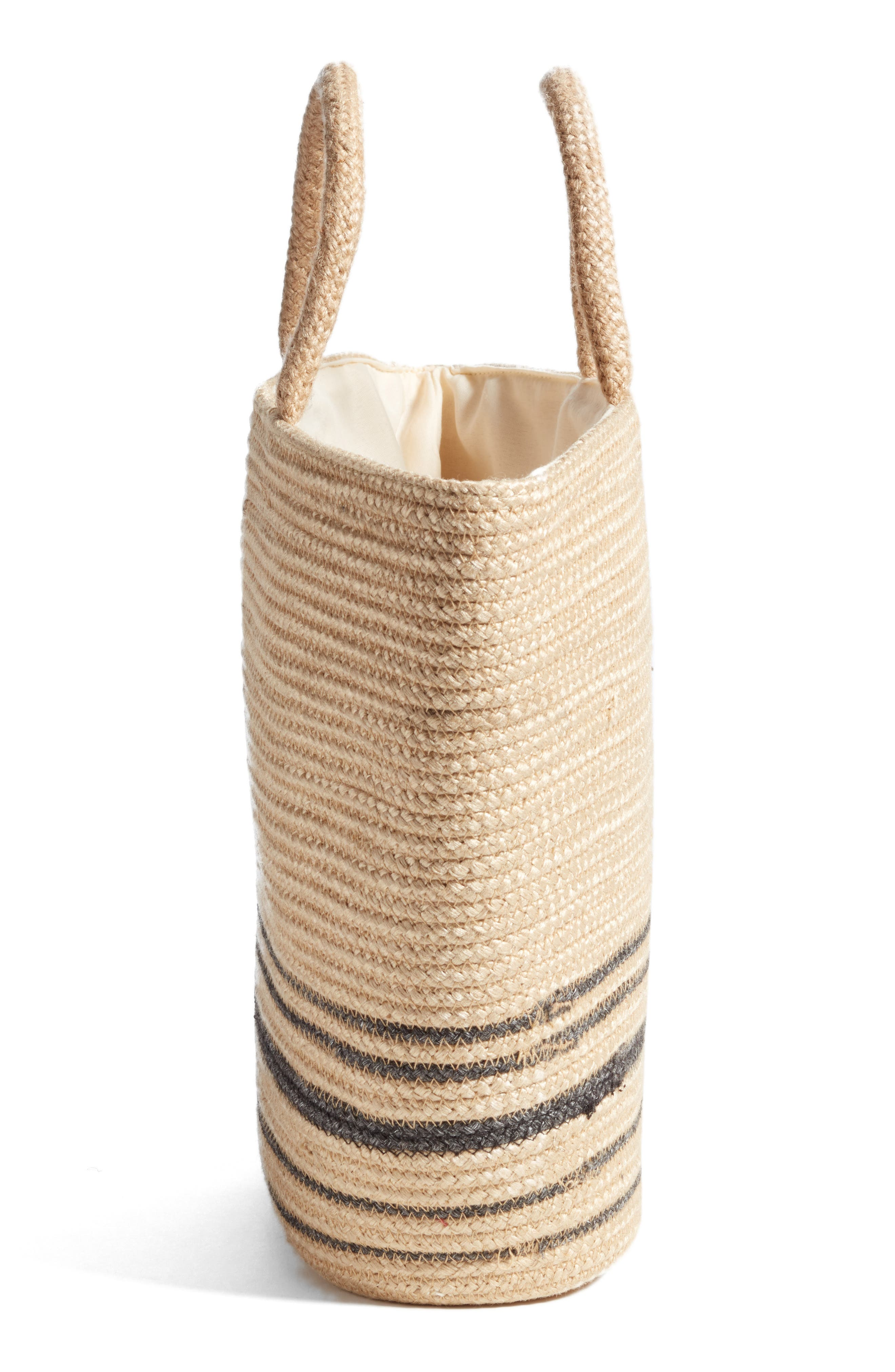 Forever Vacay Jute Bag,                             Alternate thumbnail 5, color,