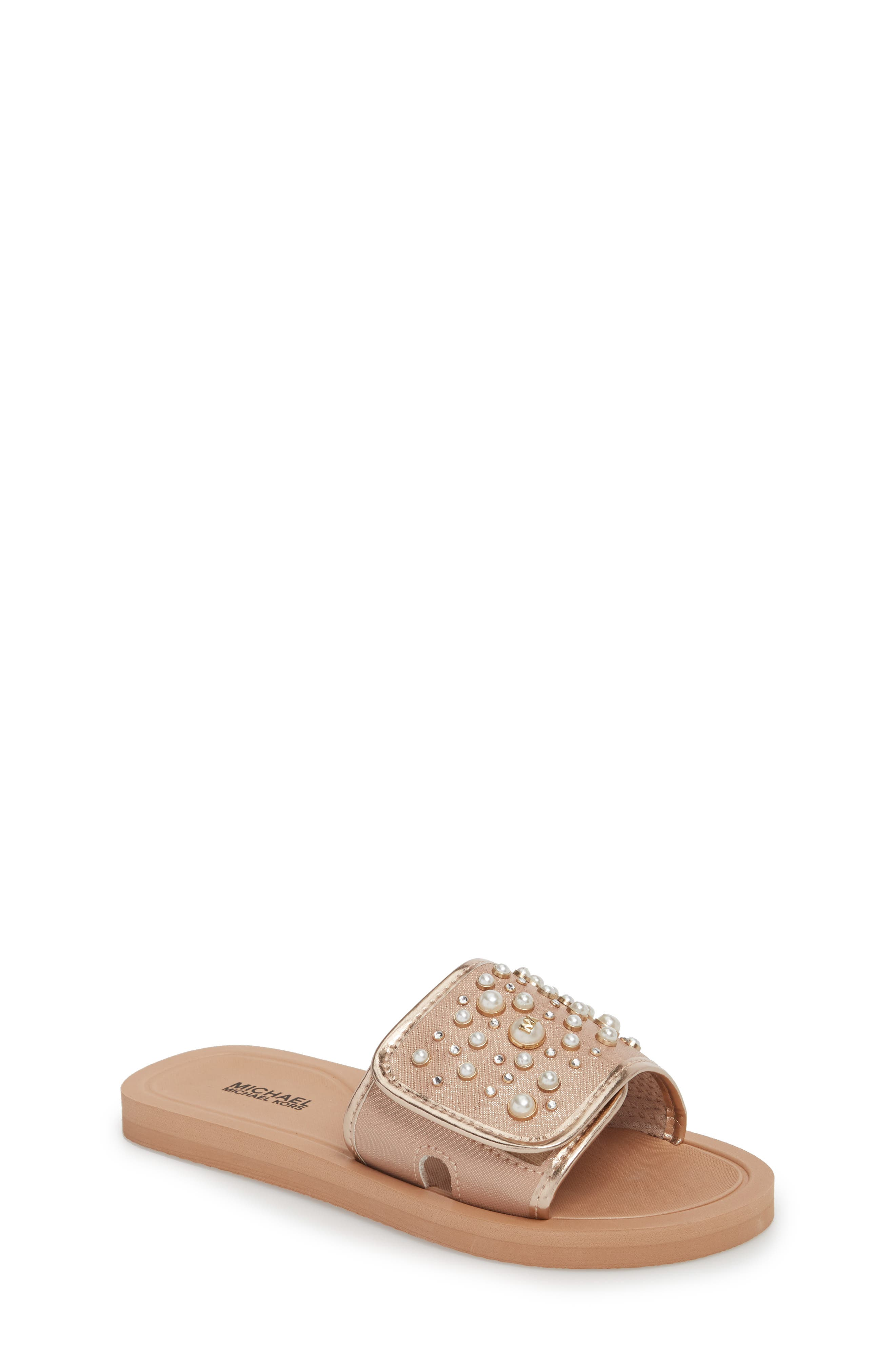 Eli Grand Embellished Slide Sandal,                         Main,                         color, 650