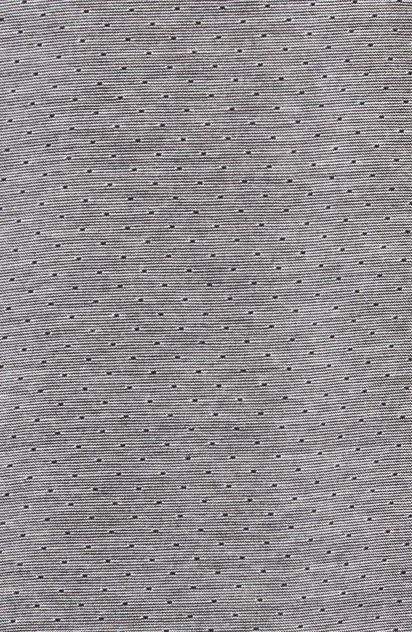 Gir Pin Dot Polo,                             Alternate thumbnail 5, color,                             BLACK