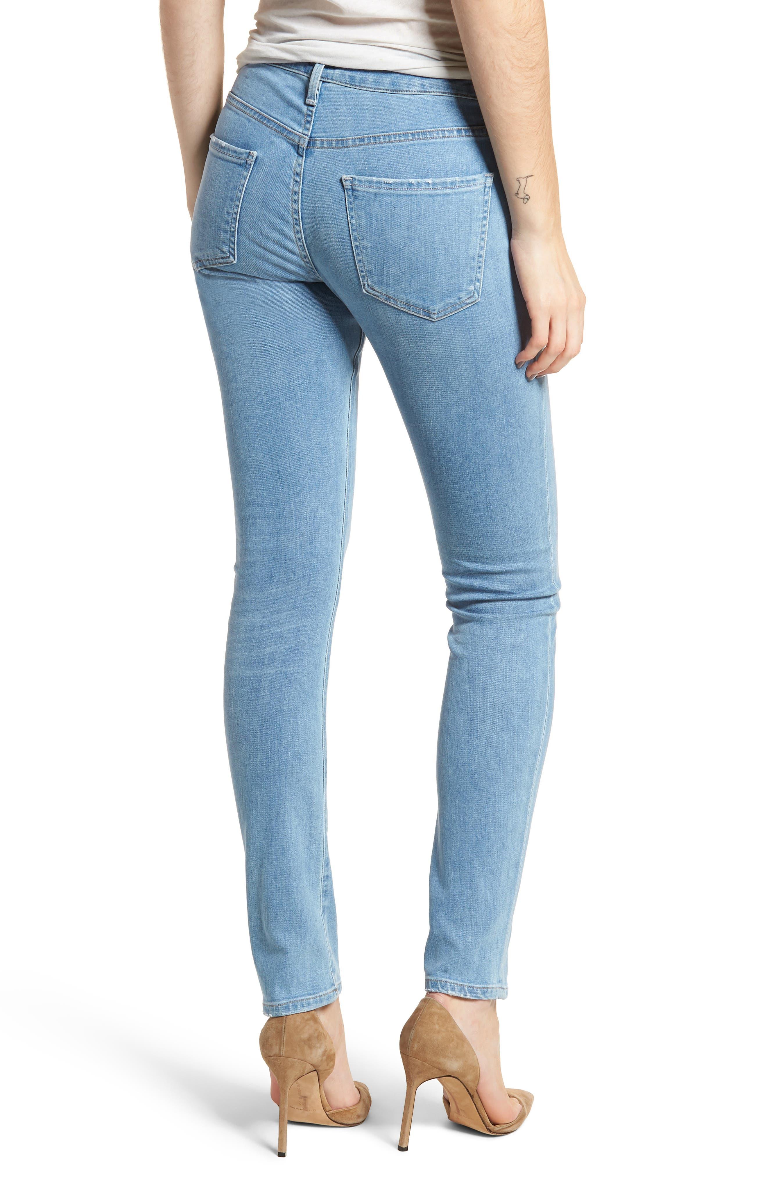Arielle Slim Jeans,                             Alternate thumbnail 2, color,                             455