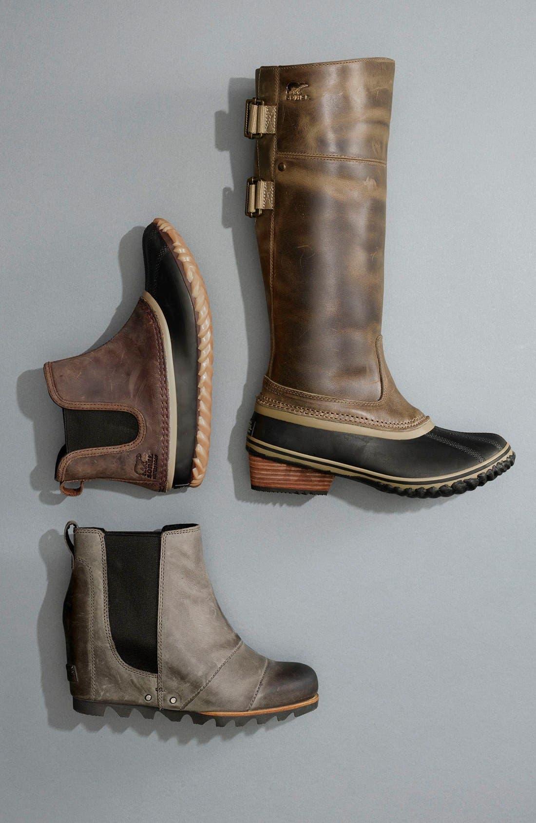 'Slimpack II' Waterproof Riding Boot,                             Alternate thumbnail 5, color,                             010