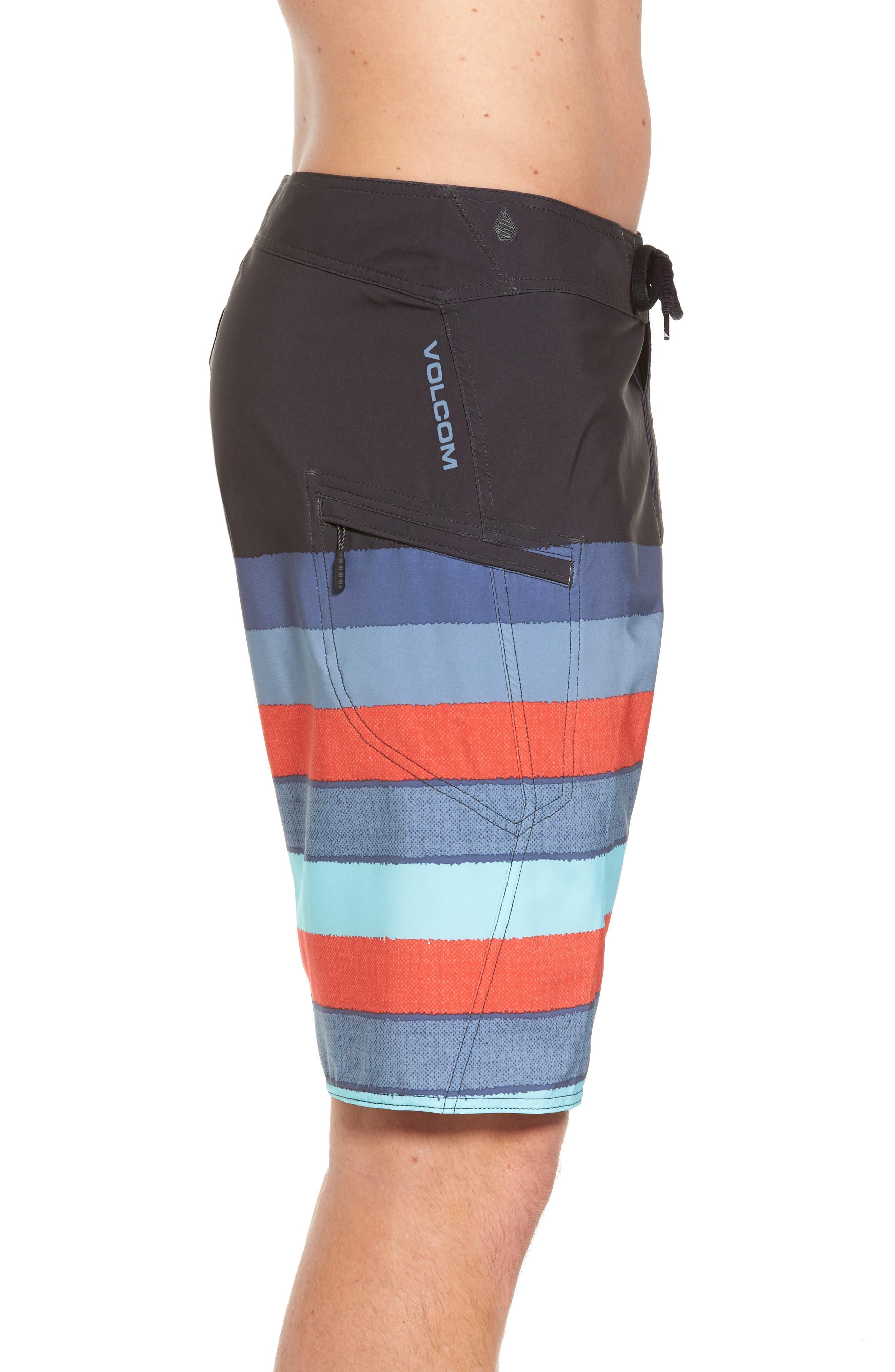 Lido Liney Mod Board Shorts,                             Alternate thumbnail 8, color,