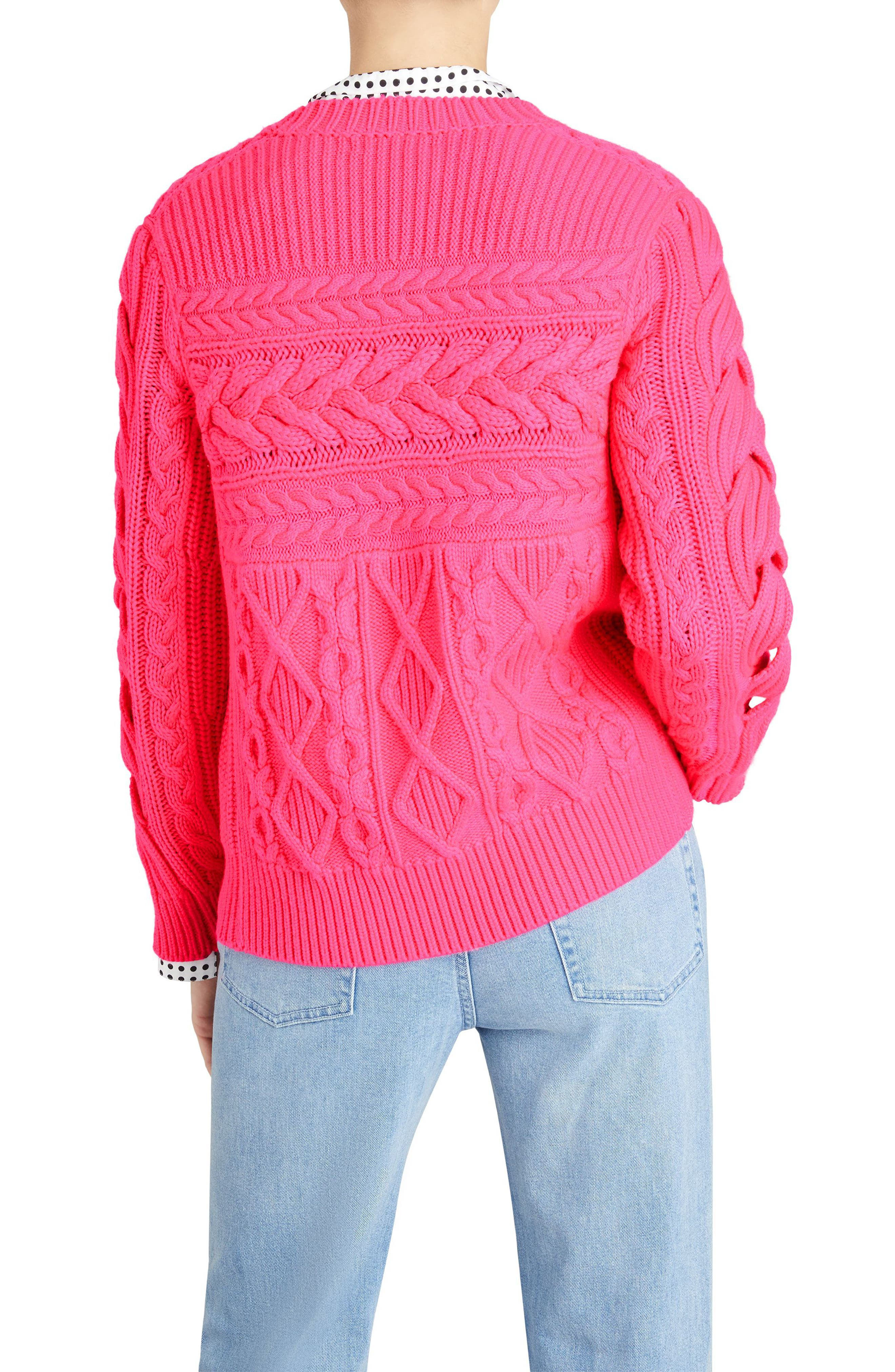 Tolman Aran Knit Sweater,                             Alternate thumbnail 2, color,