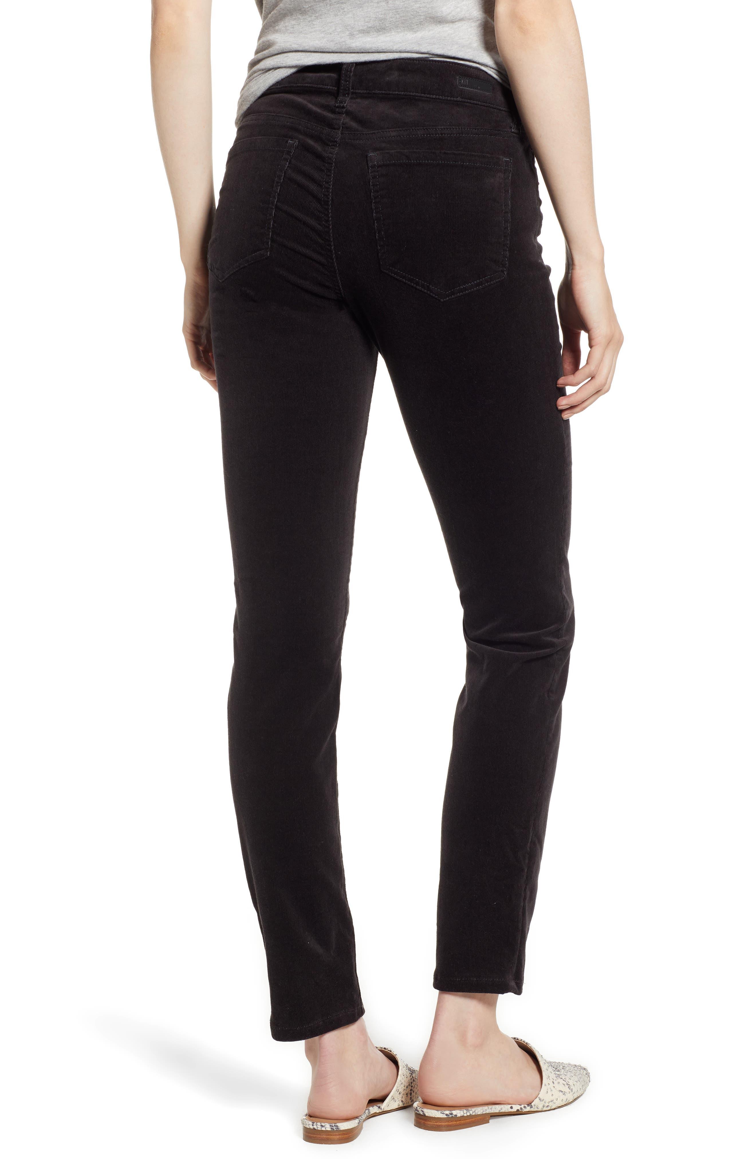 'Diana' Stretch Corduroy Skinny Pants,                             Alternate thumbnail 107, color,