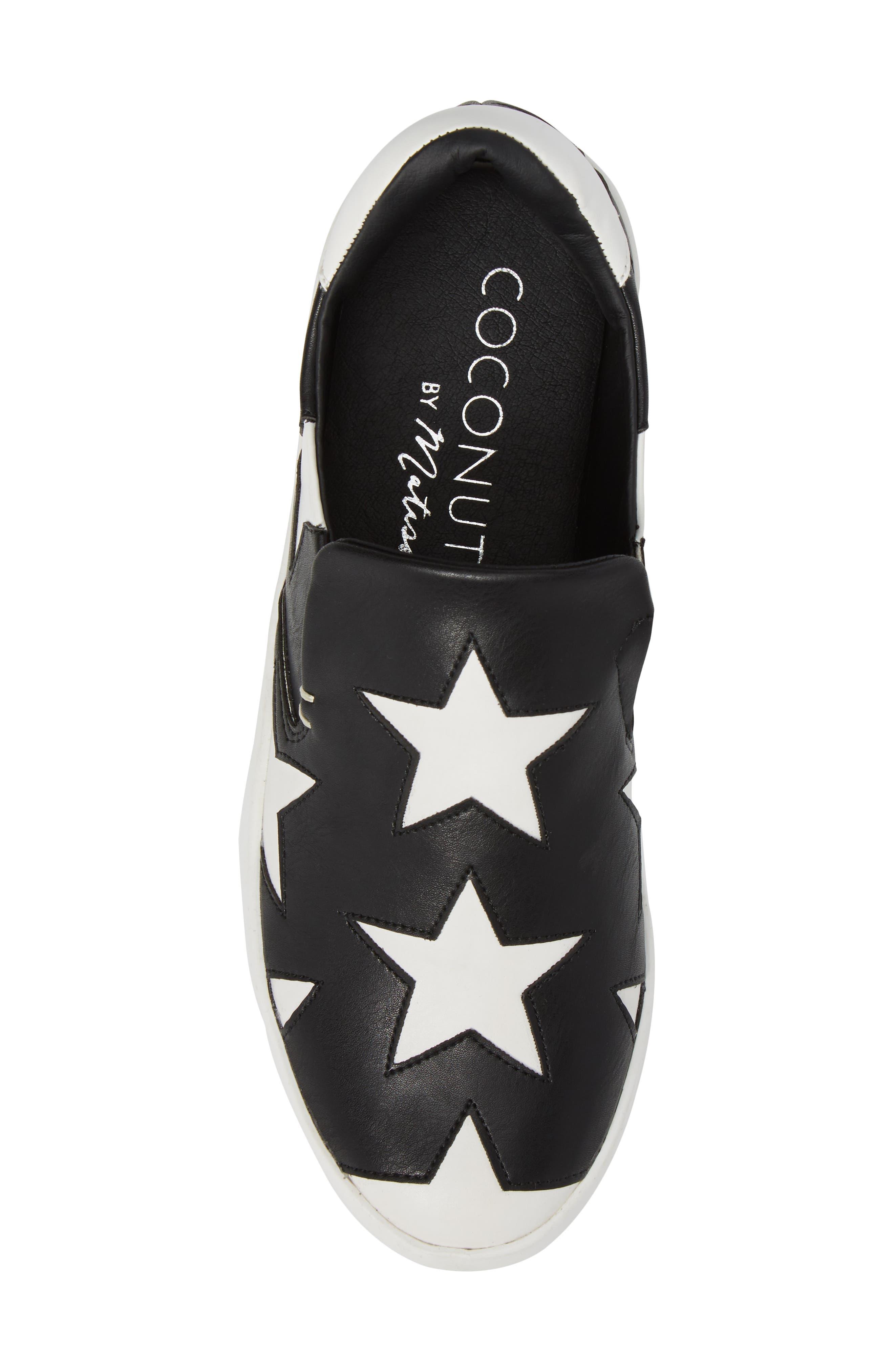 Highlight Slip-On Star Sneaker,                             Alternate thumbnail 5, color,                             015