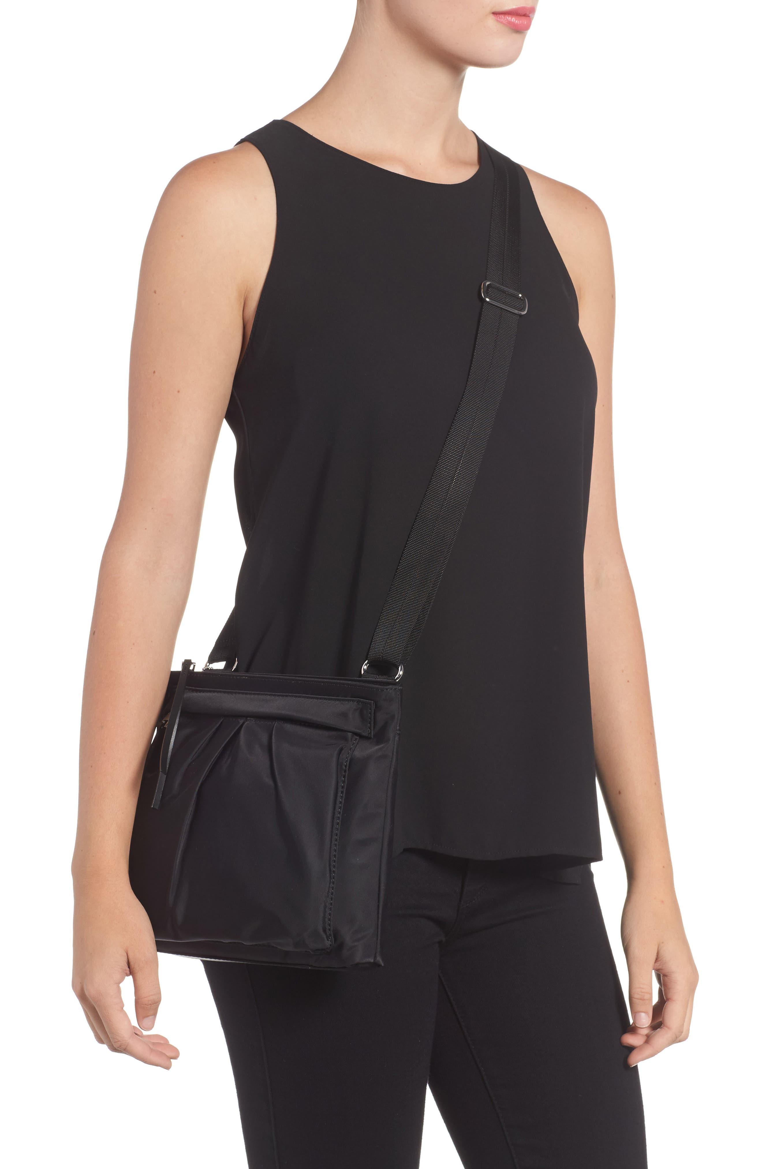 Jordan Bedford Nylon Crossbody Bag,                             Alternate thumbnail 2, color,                             008