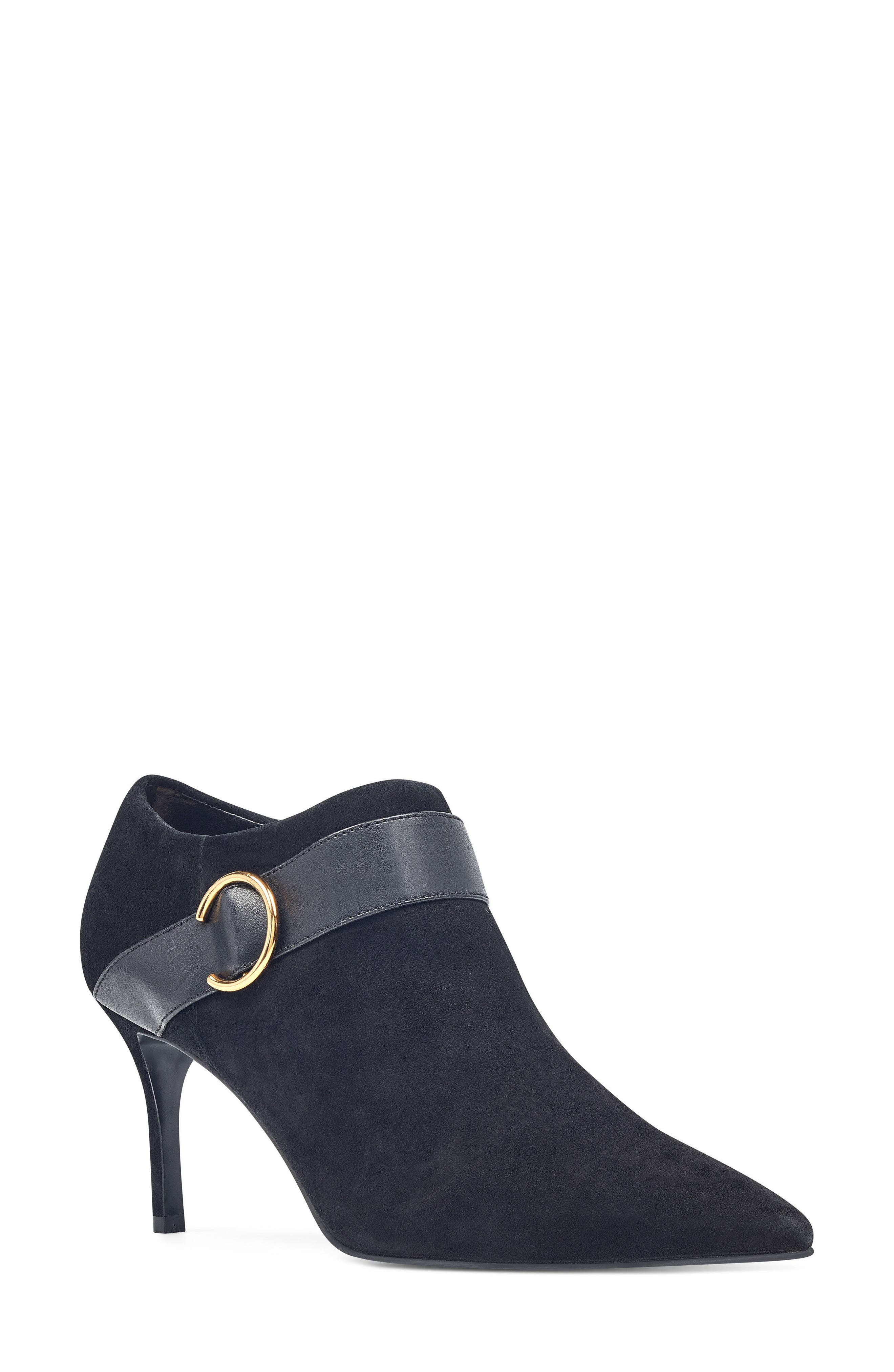 Megaera Pointy Toe Bootie,                         Main,                         color, 001