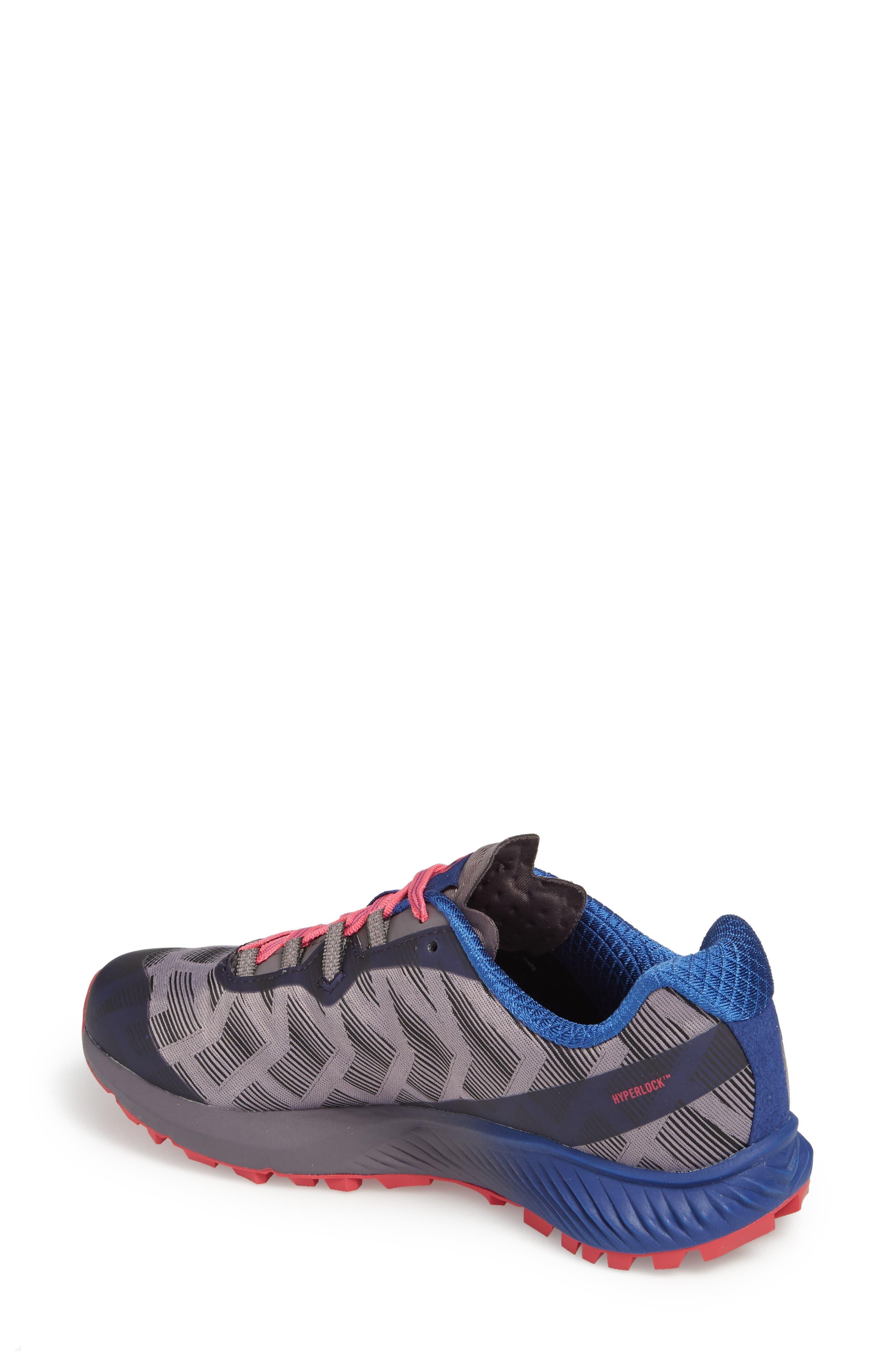 Agility Synthesis Flex Sneaker,                             Alternate thumbnail 2, color,                             SHARK FABRIC