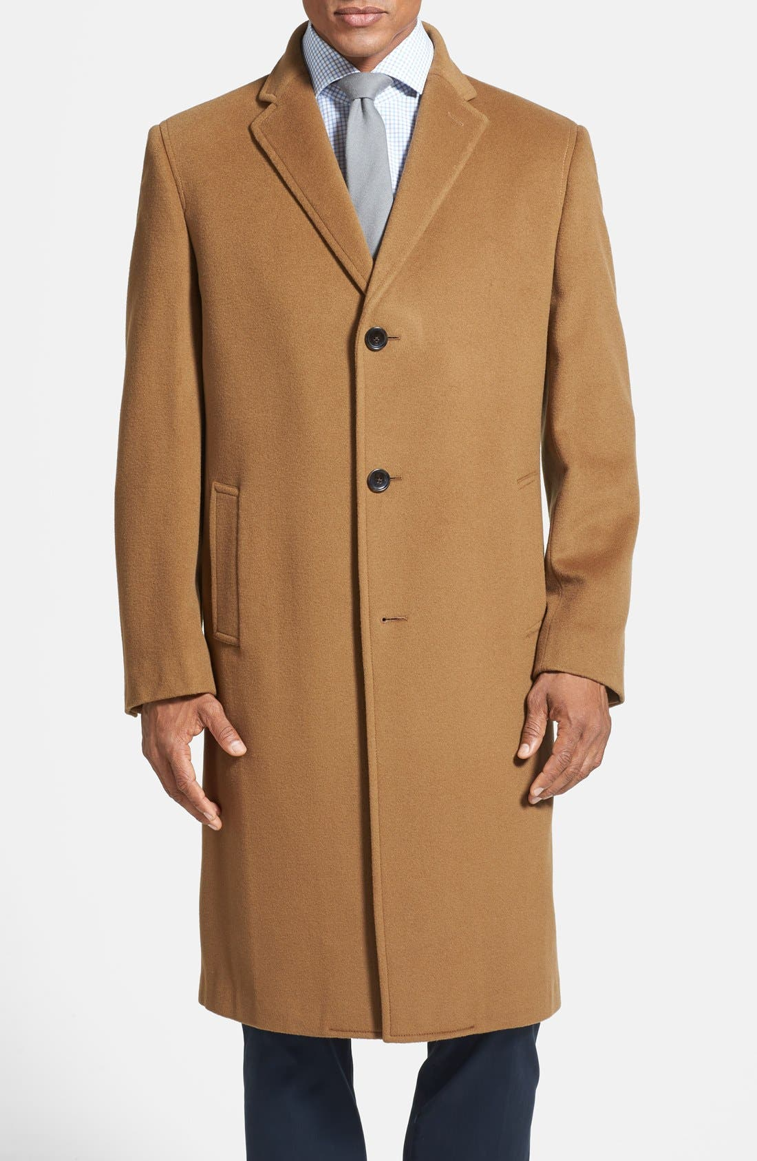 Wool & Cashmere Topcoat, Main, color, 220