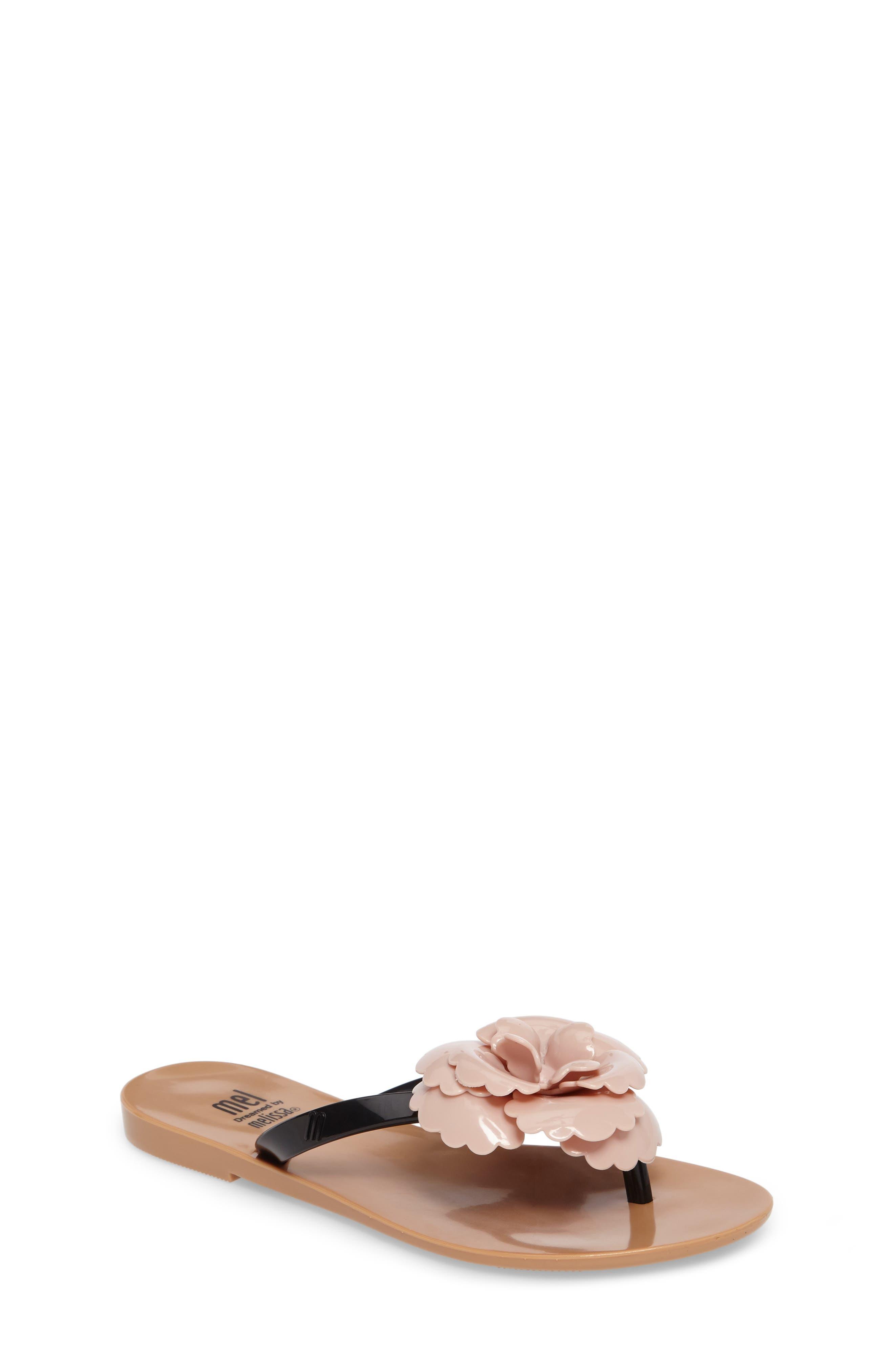 Harmonic Flower Flip Flop,                         Main,                         color, 650