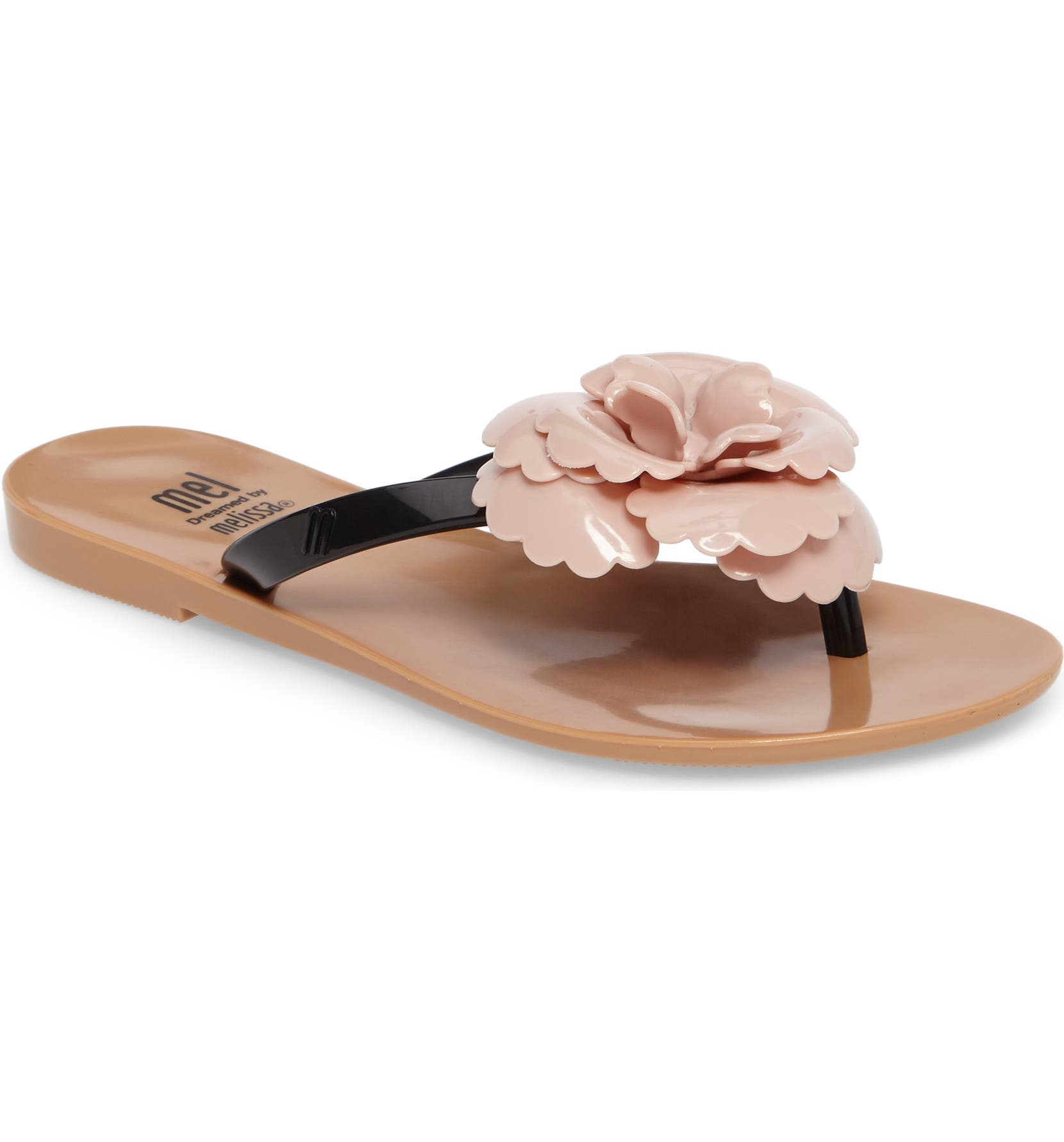 349894776ee00 Mel by Melissa Harmonic Flower Flip Flop (Toddler   Little Kid ...