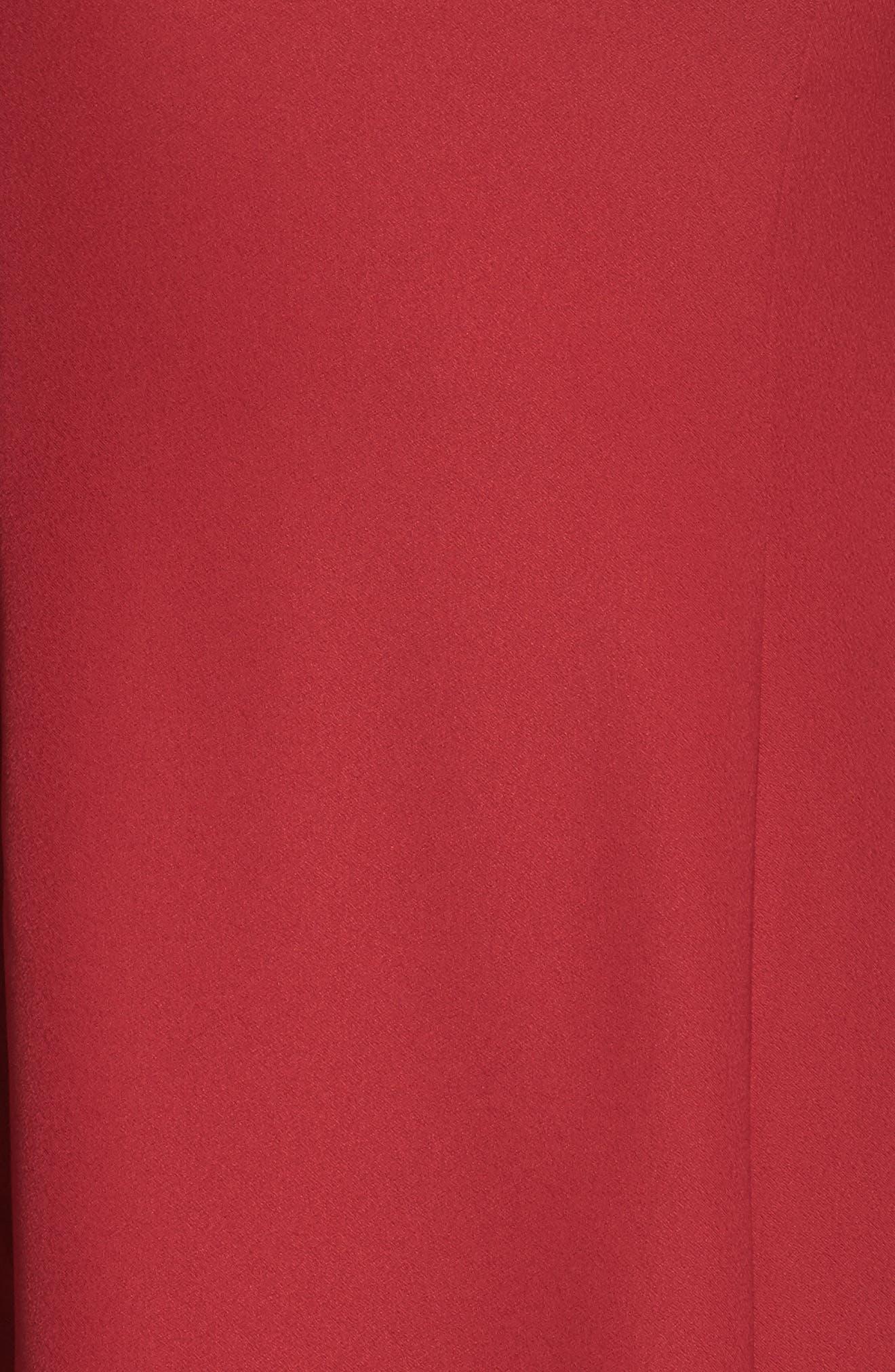 Bell Sleeve A-Line Dress,                             Alternate thumbnail 10, color,