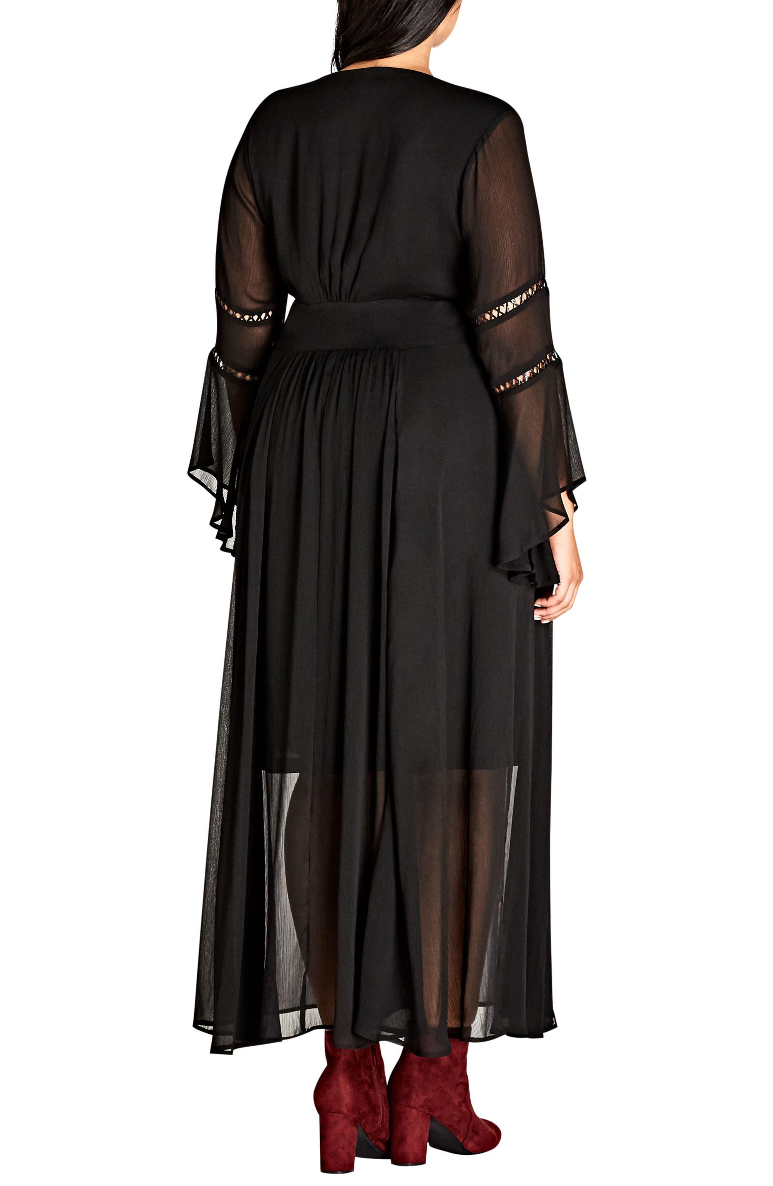 Voodoo Vixen Maxi Dress,                             Alternate thumbnail 2, color,                             001