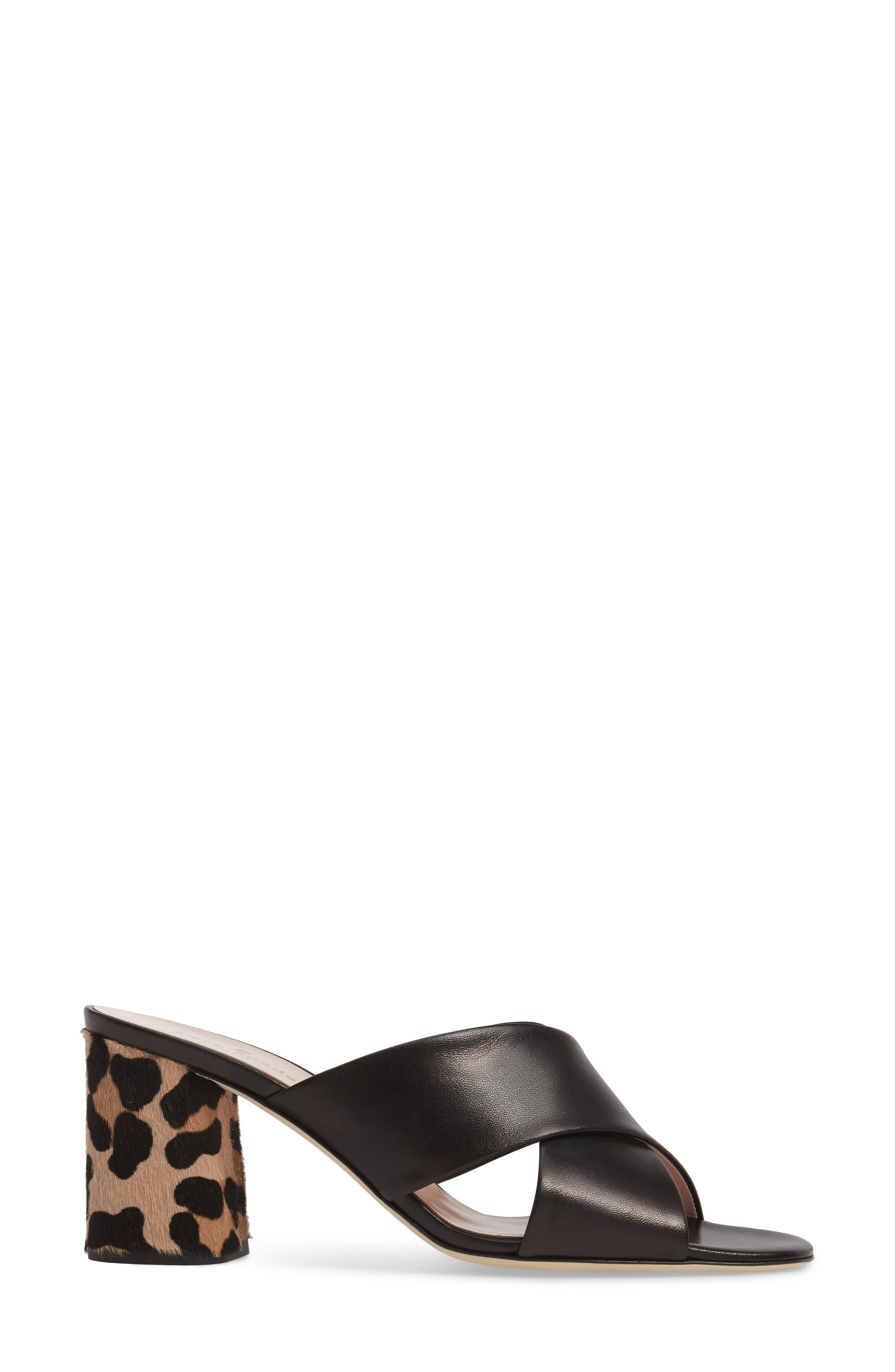 denault slide sandal,                             Alternate thumbnail 3, color,                             001