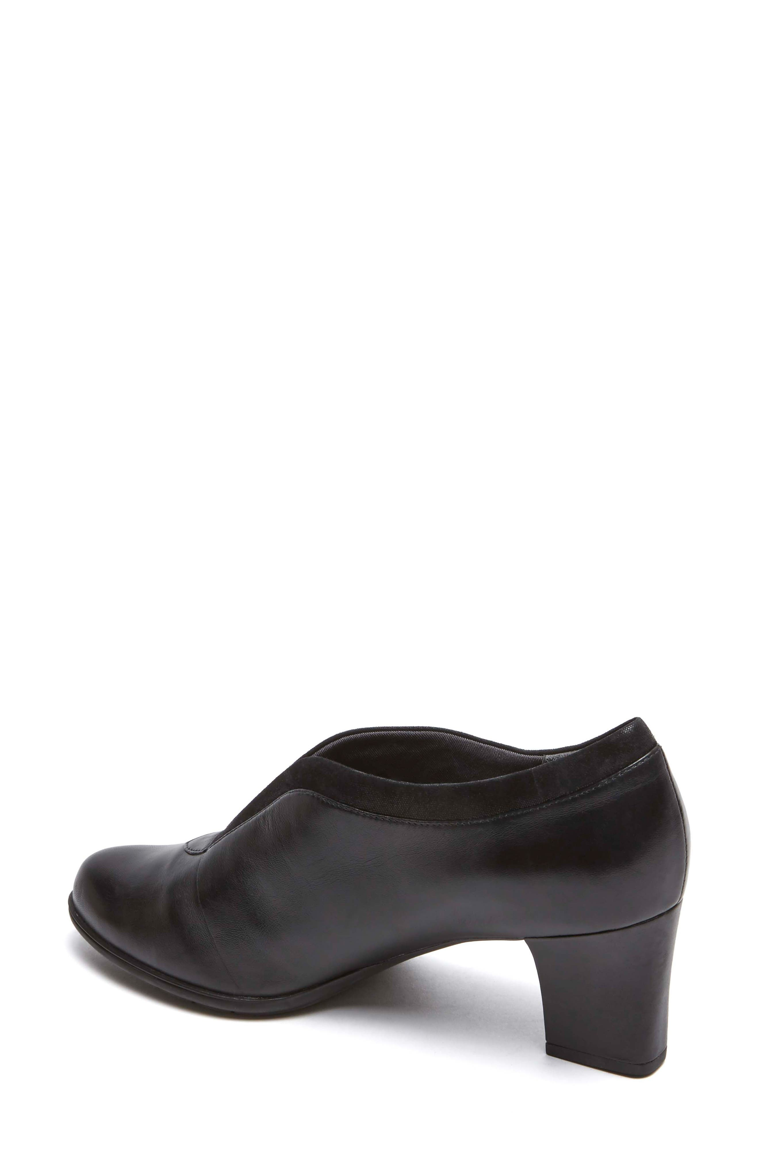 Esty Luxe Pump,                             Alternate thumbnail 2, color,                             BLACK LEATHER