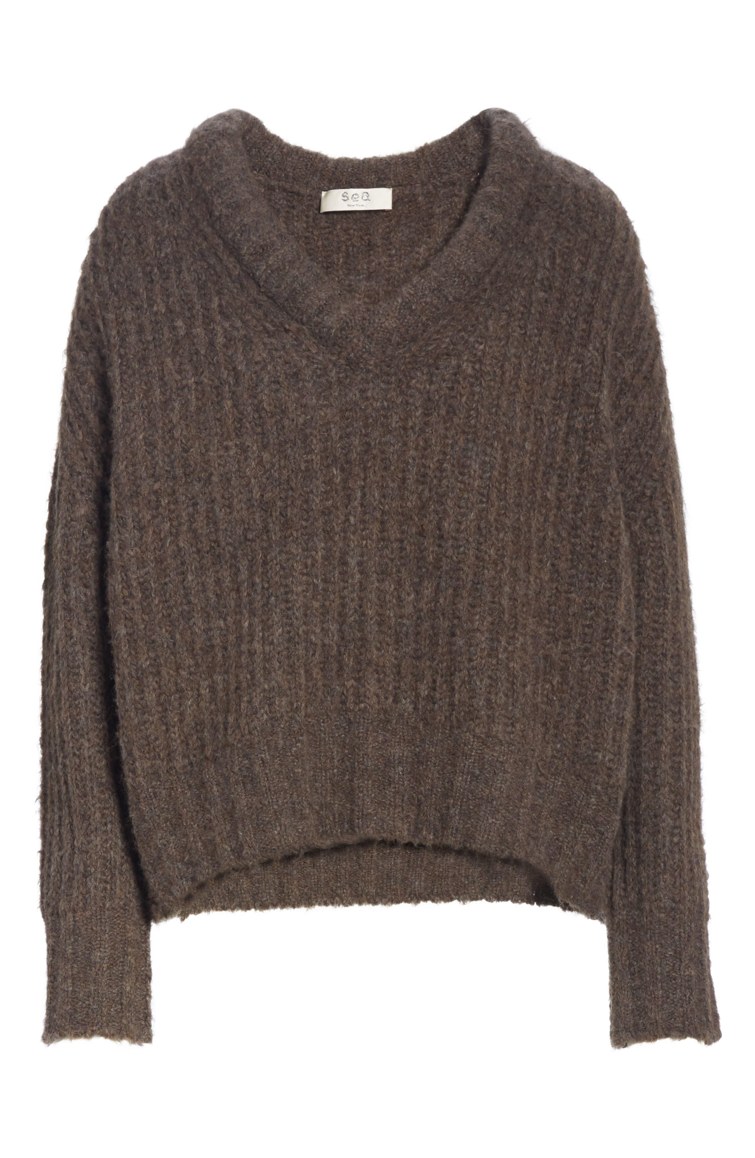 Fabiana Boxy Sweater,                             Alternate thumbnail 6, color,                             230