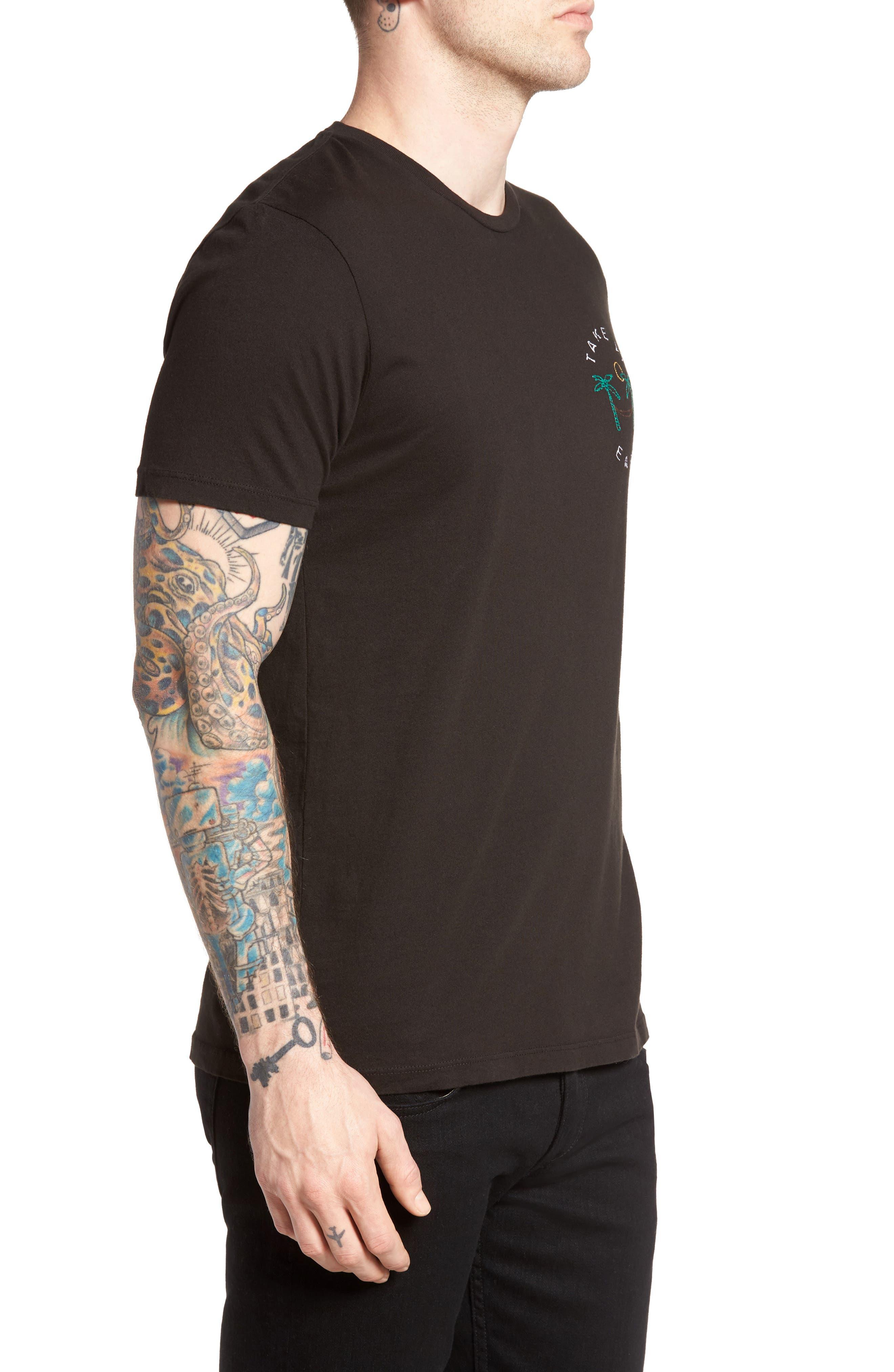 Take It Easy T-Shirt,                             Alternate thumbnail 3, color,