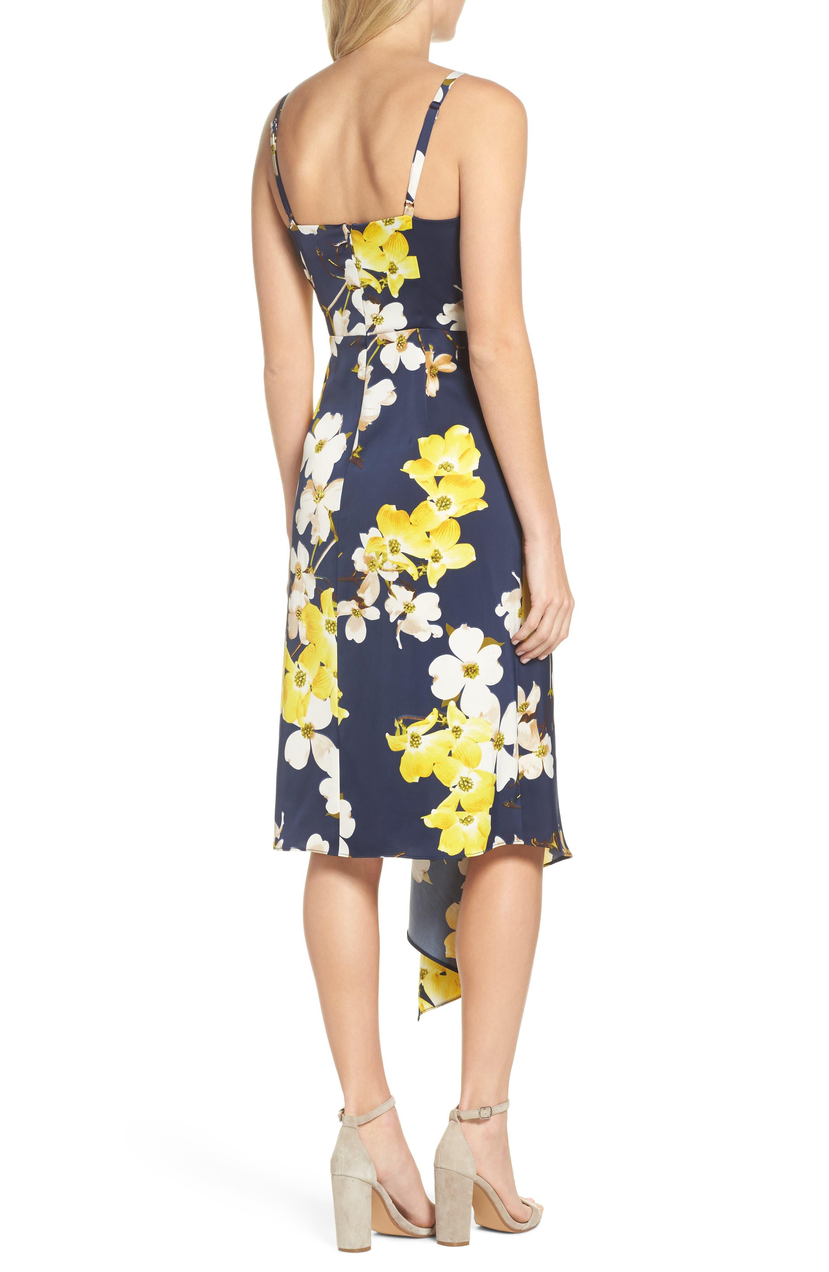 Asymmetrical Midi Dress,                             Alternate thumbnail 2, color,                             400