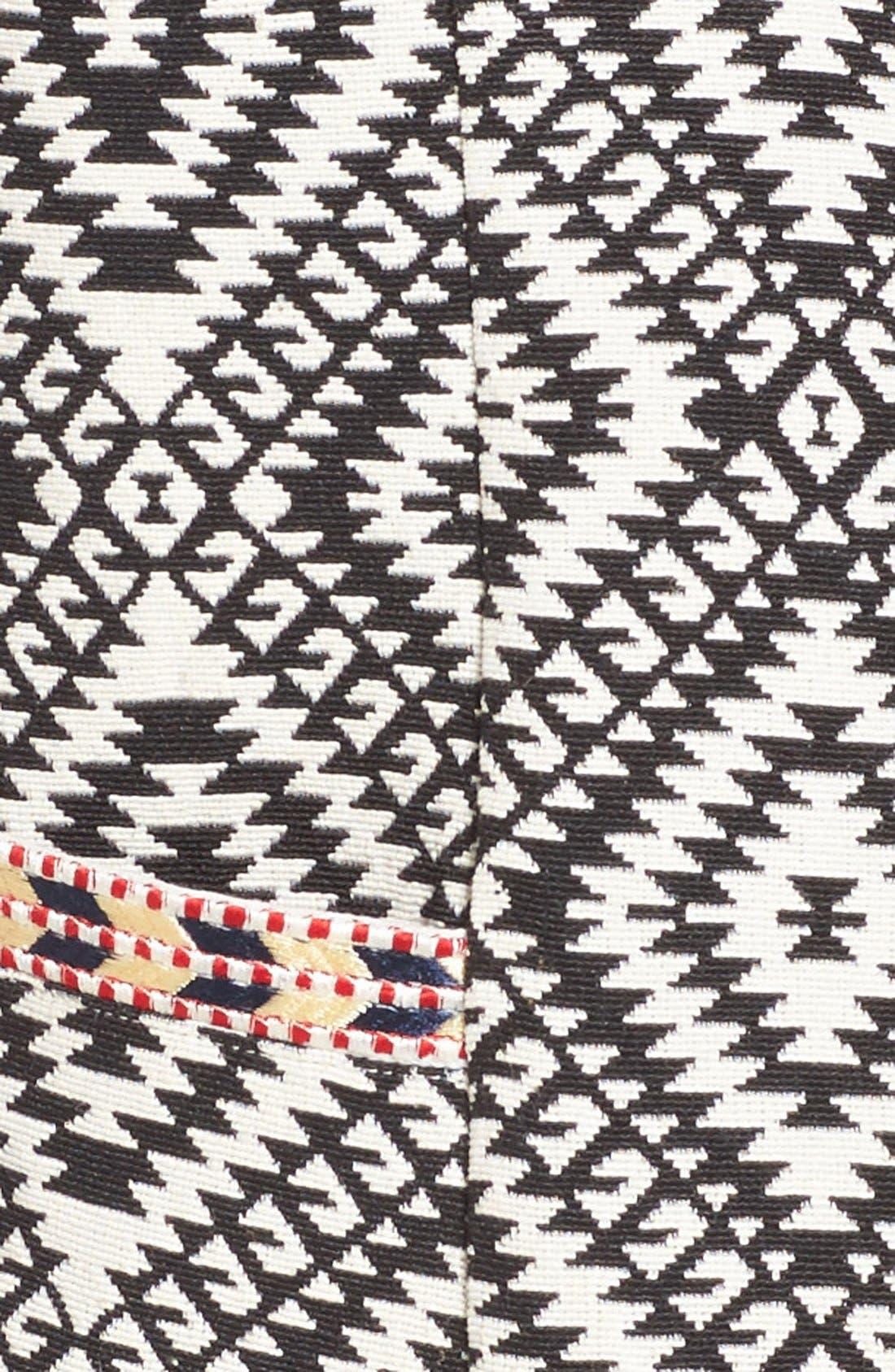 TULAROSA,                             'Santa Fe' Jacquard Jacket,                             Alternate thumbnail 5, color,                             001