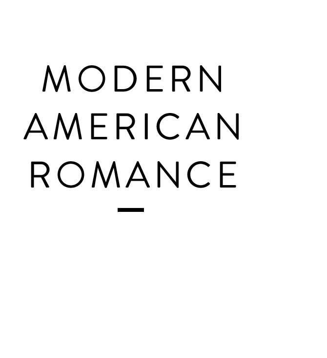 Modern American Romance