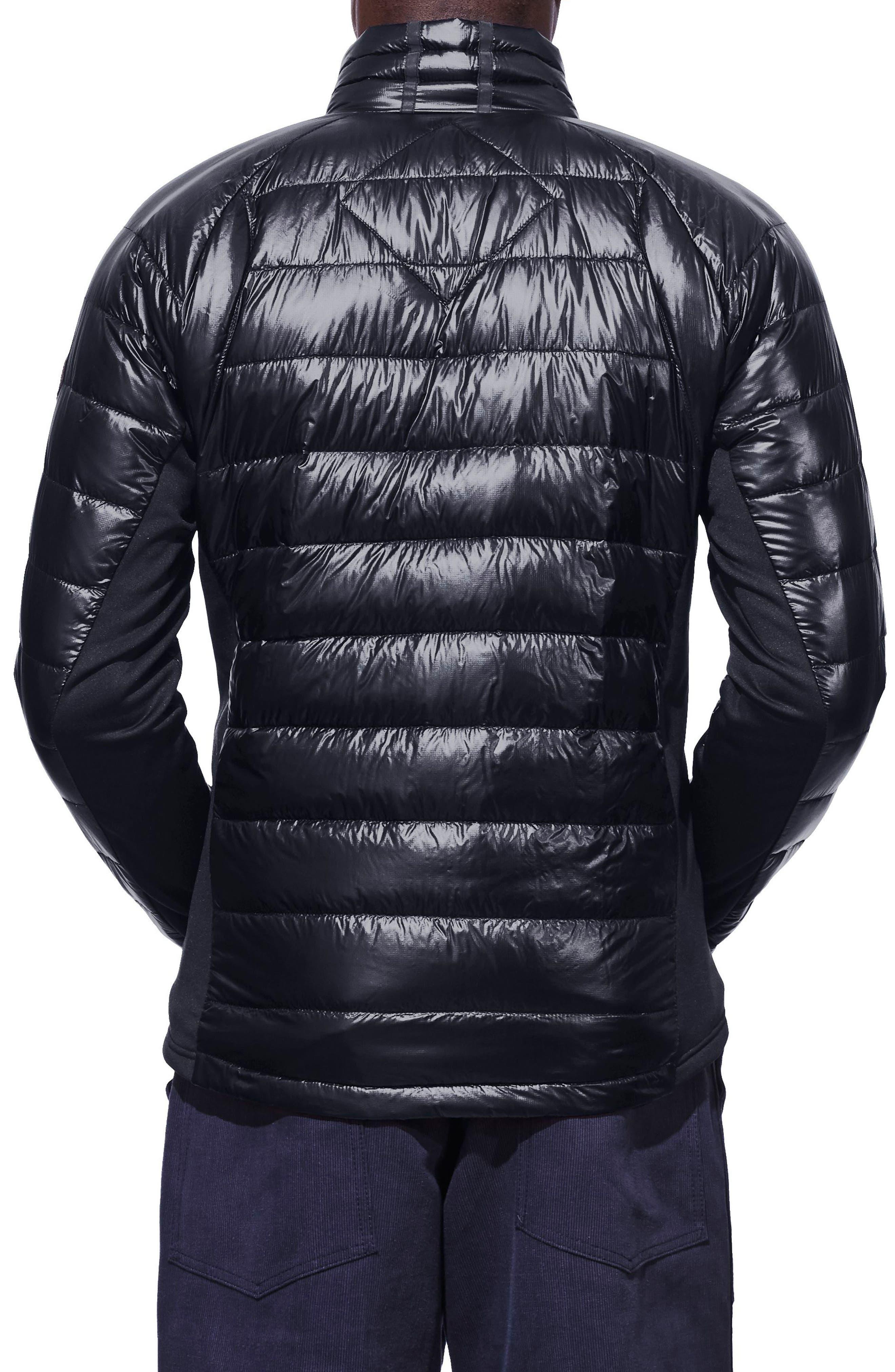 'Hybridge<sup>™</sup> Lite' Slim Fit Packable Jacket,                             Alternate thumbnail 2, color,                             ADMIRAL BLUE/ BLACK