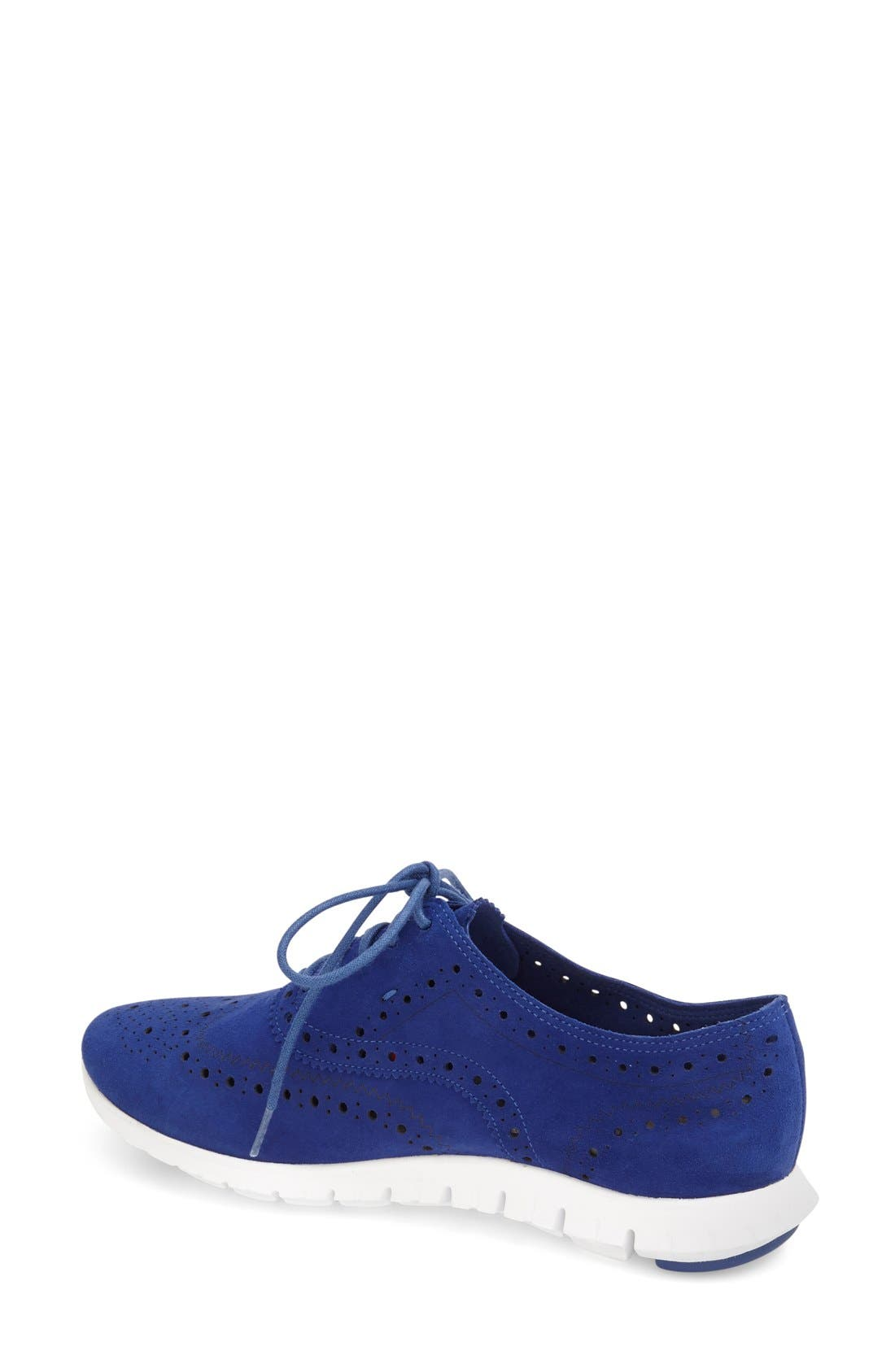 'ZeroGrand' Perforated Wingtip,                             Alternate thumbnail 49, color,