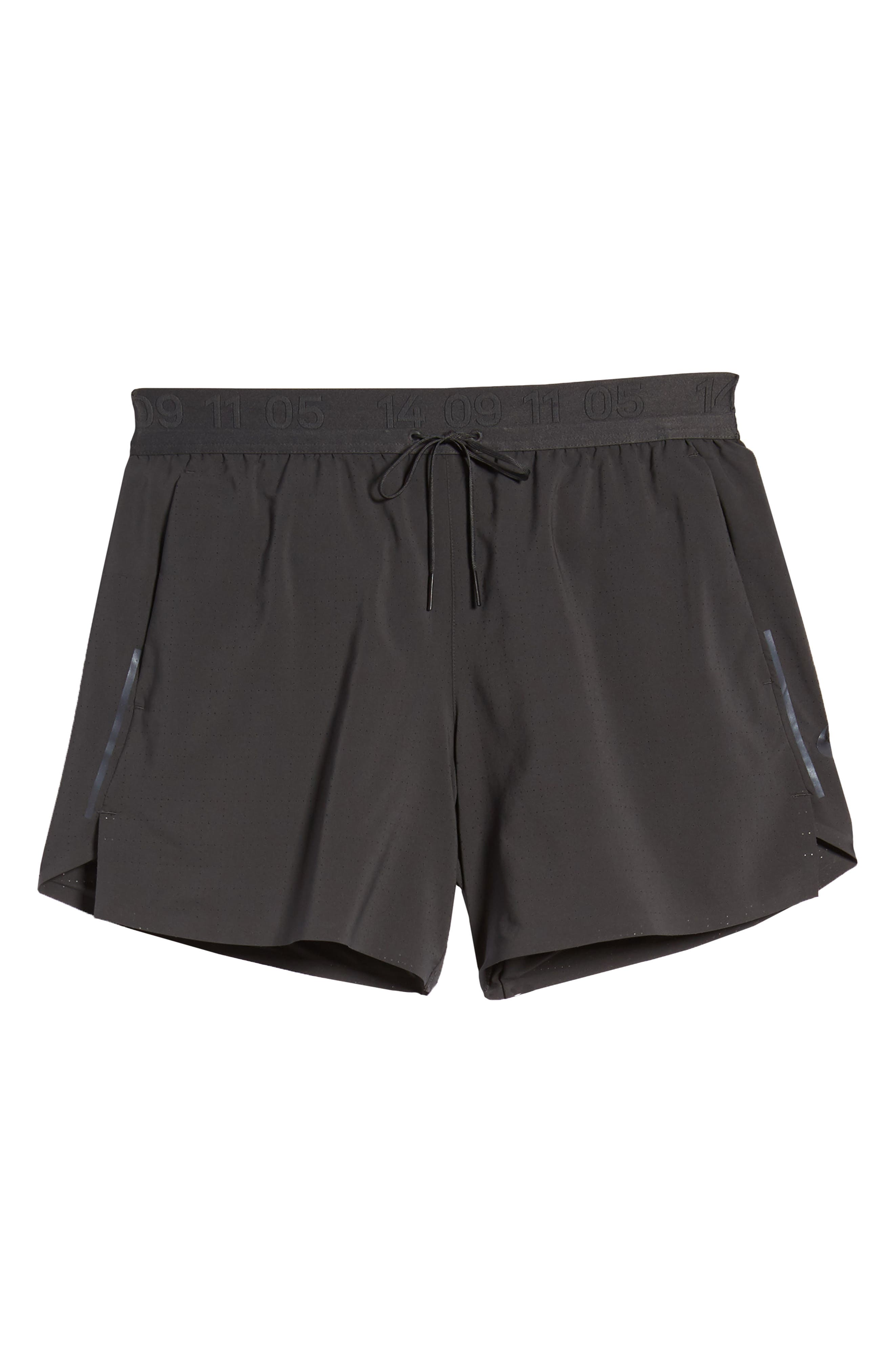 Running Shorts,                             Alternate thumbnail 6, color,                             ANTHRACITE/ ANTHRACITE