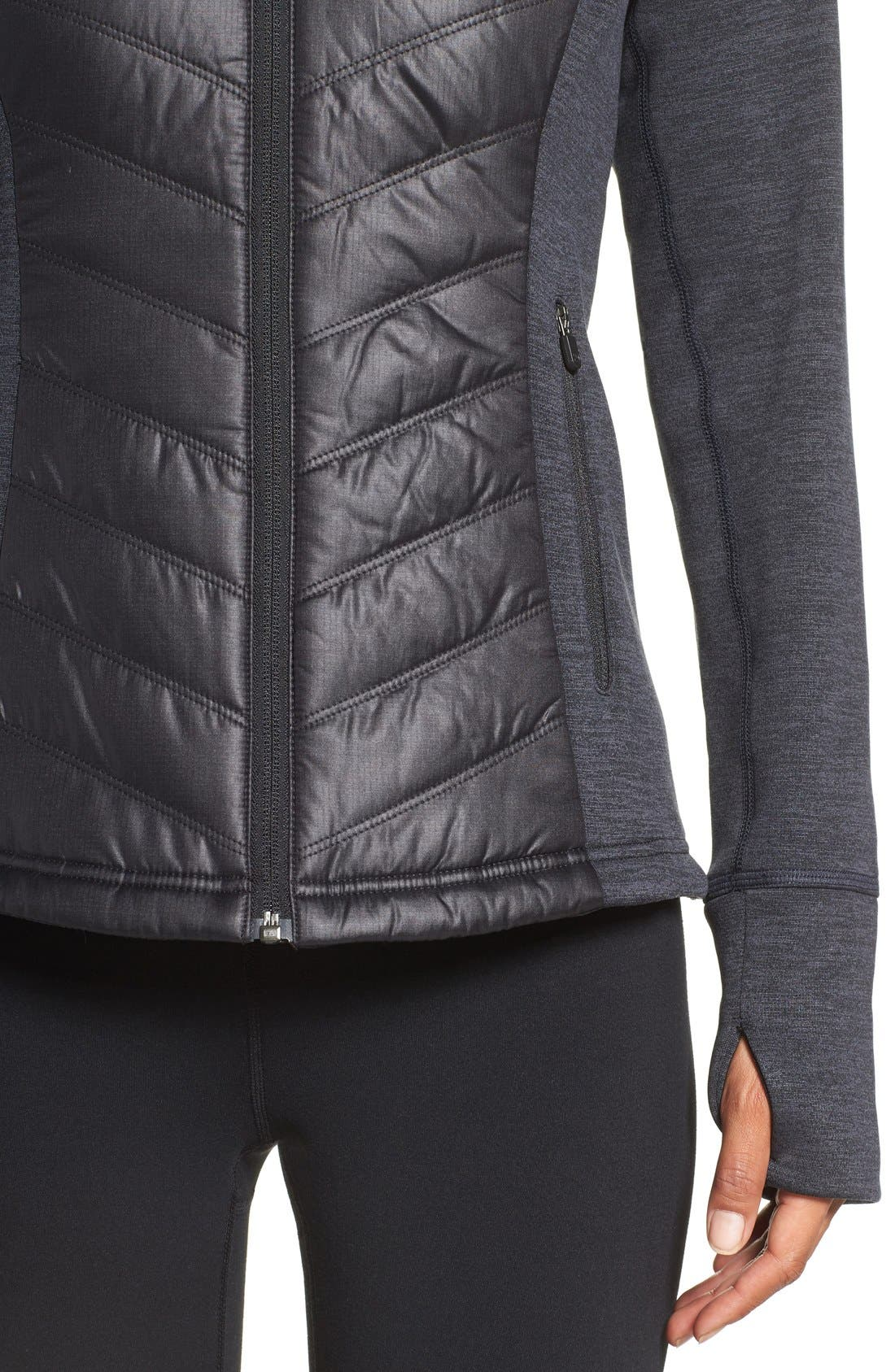 Zelfusion Reflective Quilted Jacket,                             Alternate thumbnail 23, color,
