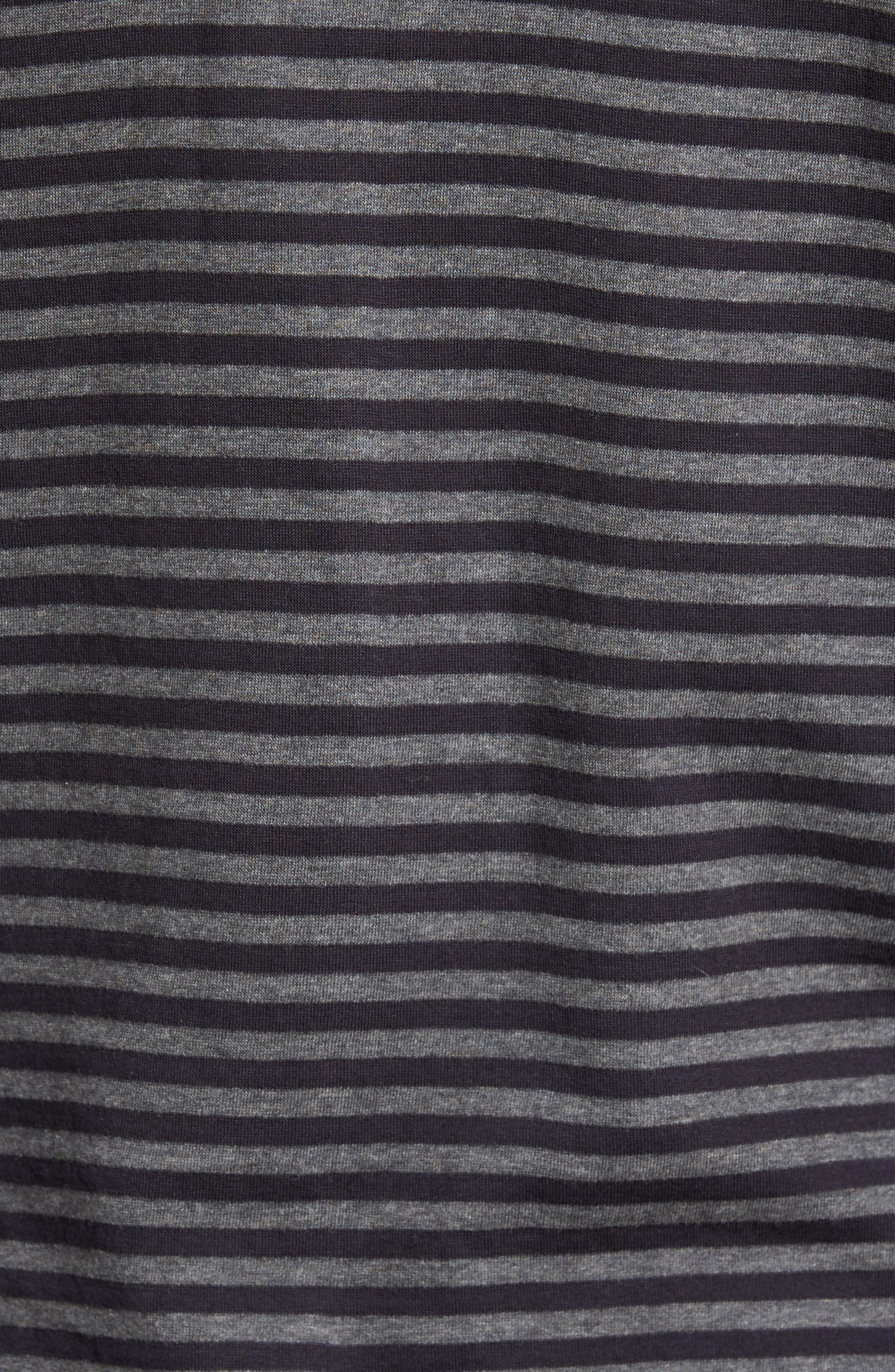 Alternative Stripe Long Sleeve T-Shirt,                             Alternate thumbnail 5, color,                             020