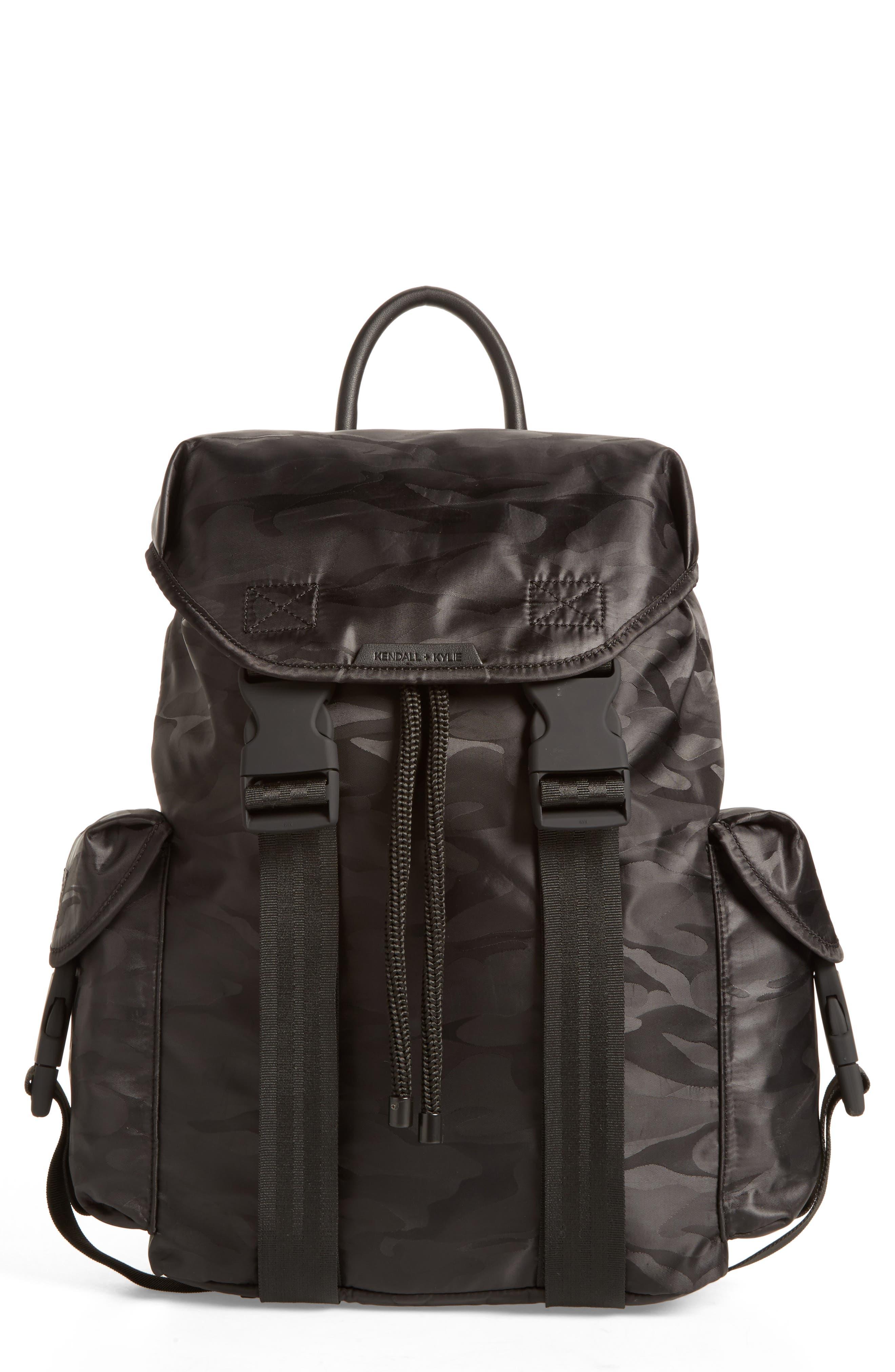Jordyn Nylon Backpack,                         Main,                         color,