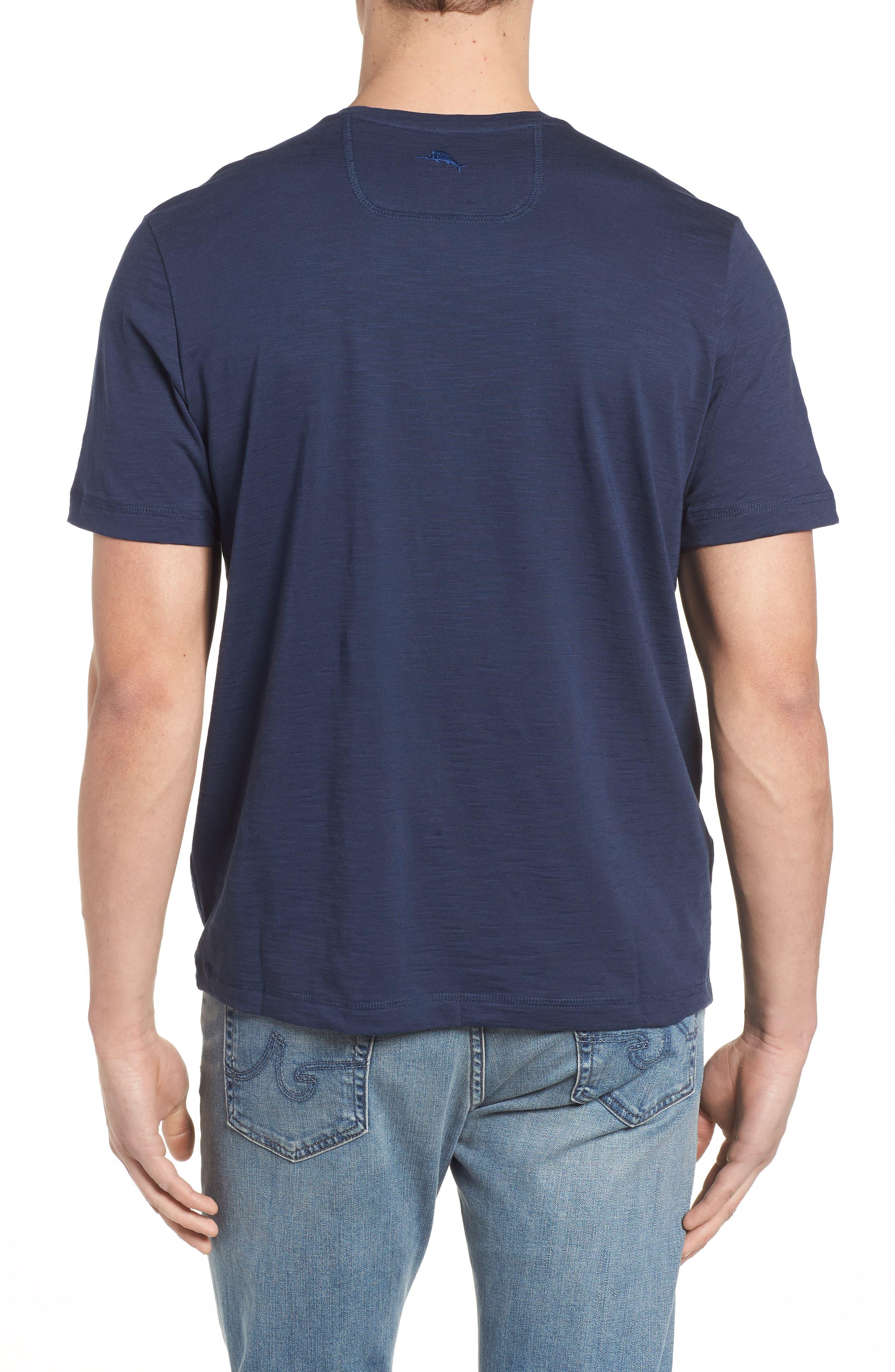 Portside Palms V-Neck T-Shirt,                             Alternate thumbnail 17, color,