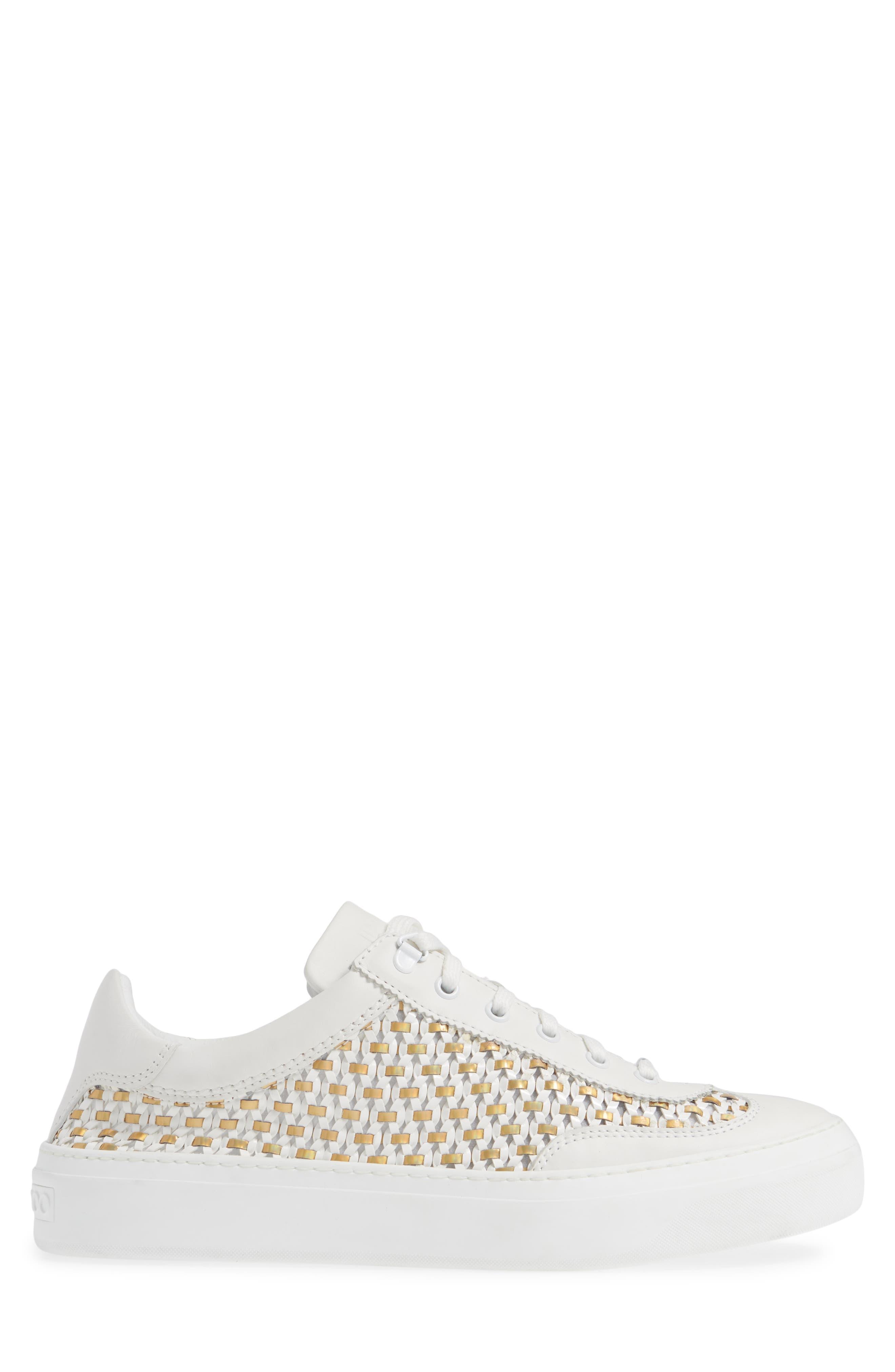 Ace Mux Sneaker,                             Alternate thumbnail 3, color,                             WHITE MIX