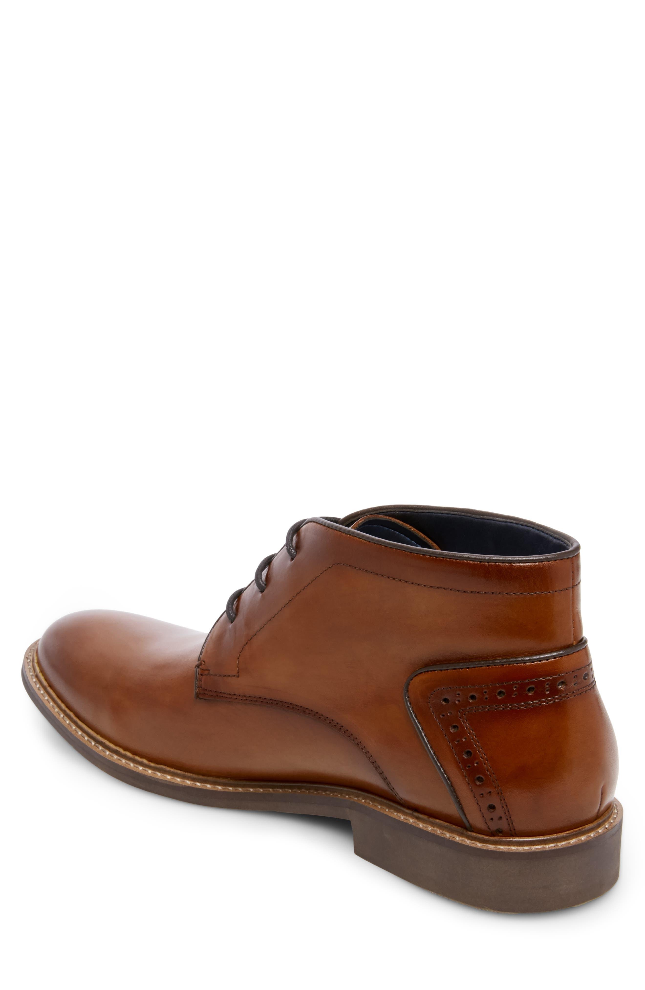 Backster Plain Toe Chukka Boot,                             Alternate thumbnail 2, color,                             COGNAC LEATHER