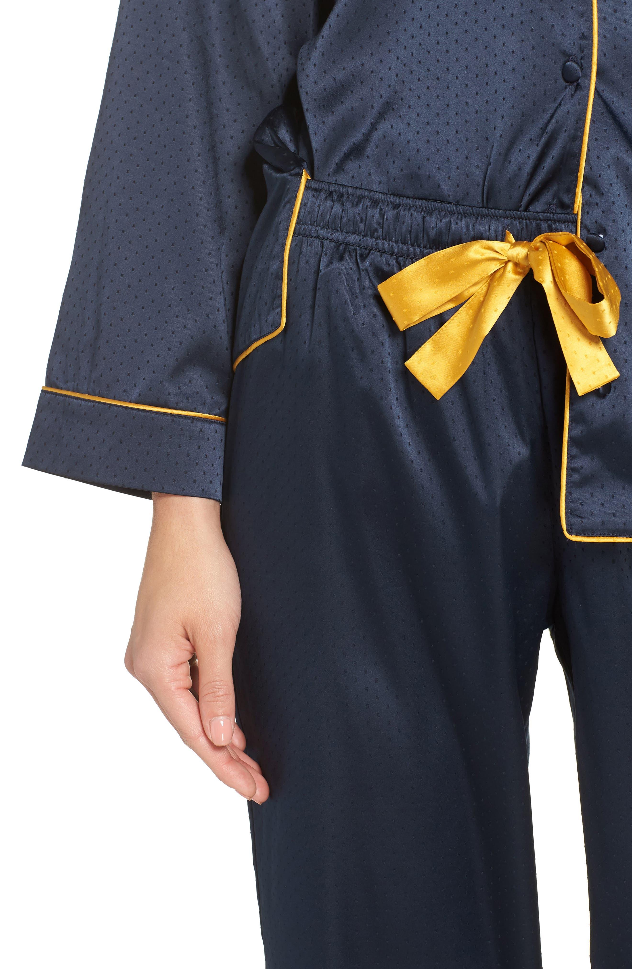 So Sweet Pajamas,                             Alternate thumbnail 4, color,                             NAVY SAPPHIRE