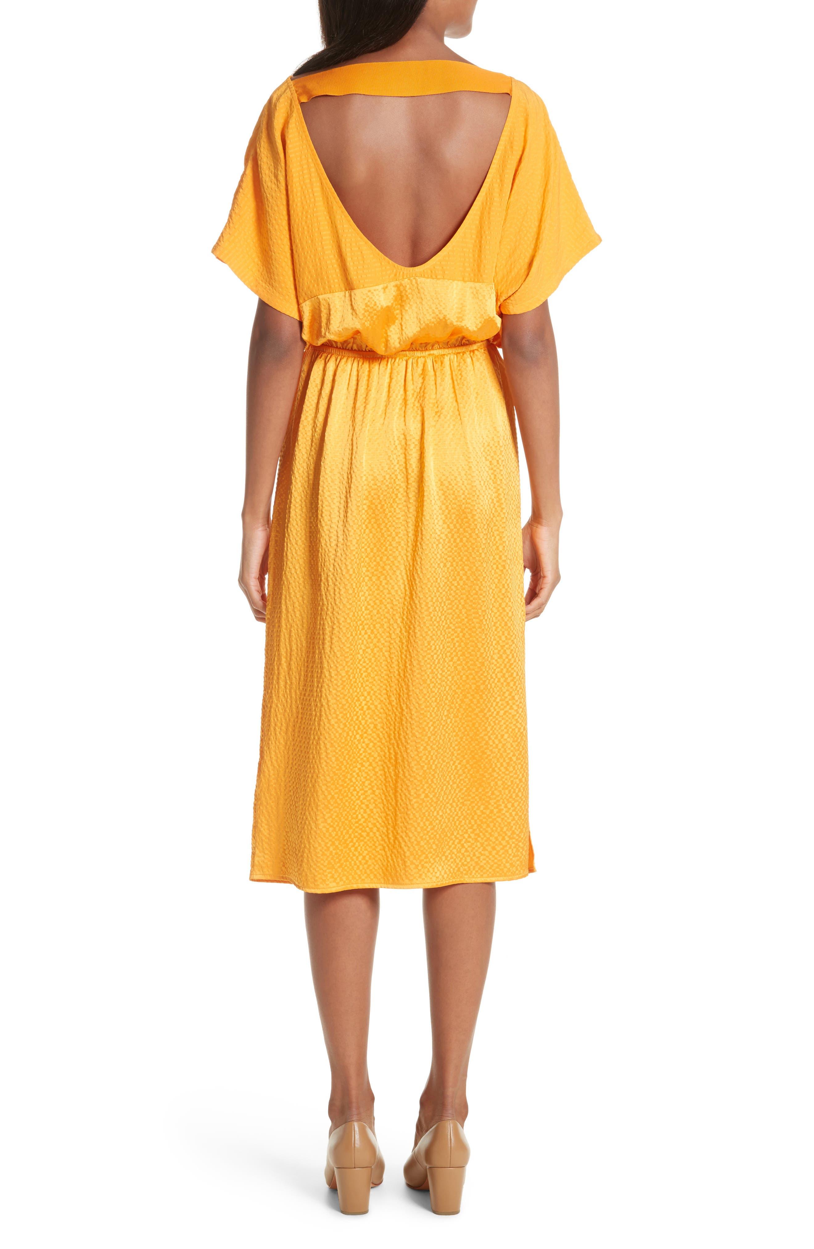 Tonic Silk Midi Dress,                             Alternate thumbnail 2, color,                             850