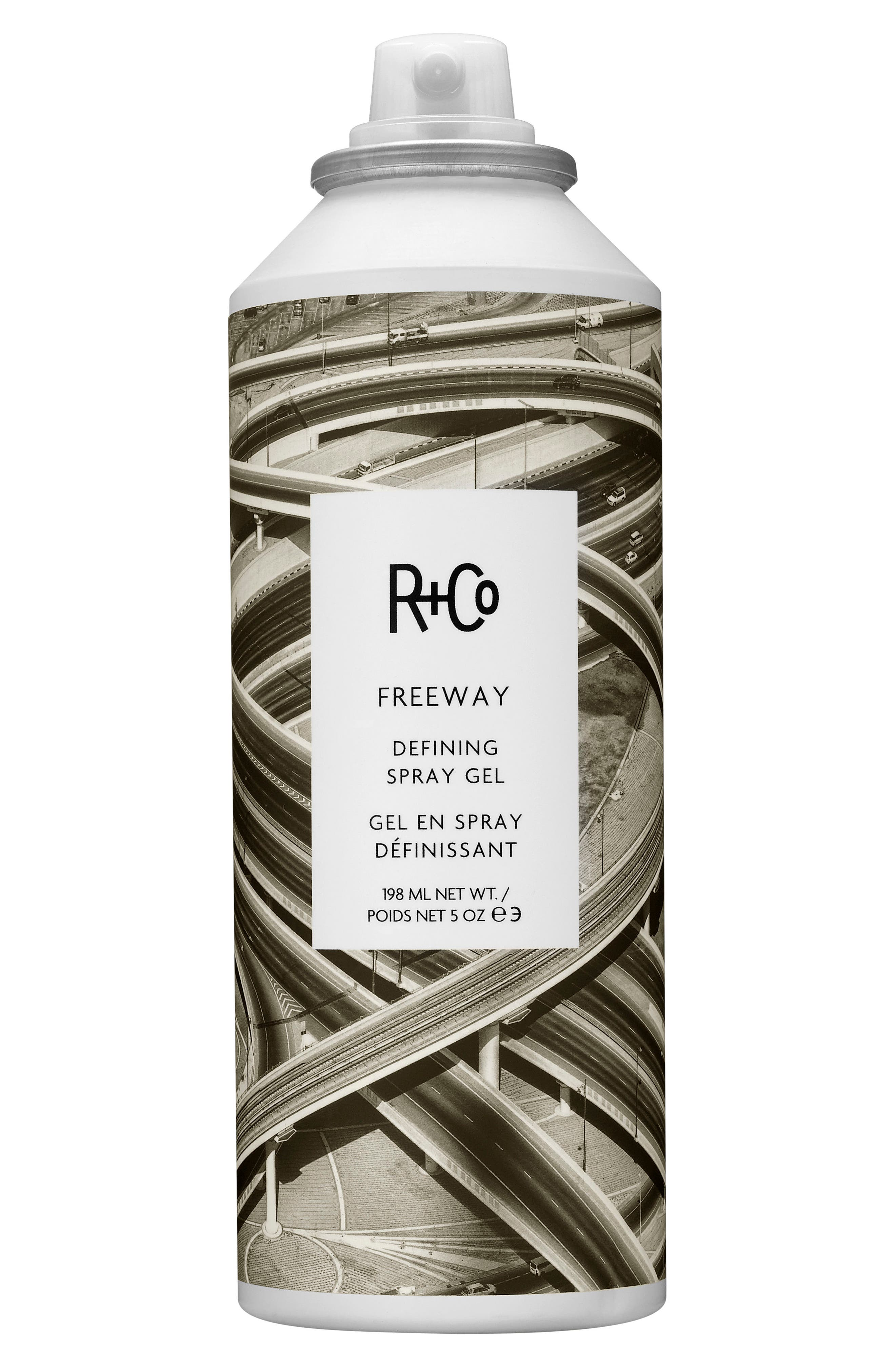 SPACE.NK.apothecary R+Co Freeway Defining Spray Gel,                             Main thumbnail 1, color,                             NO COLOR